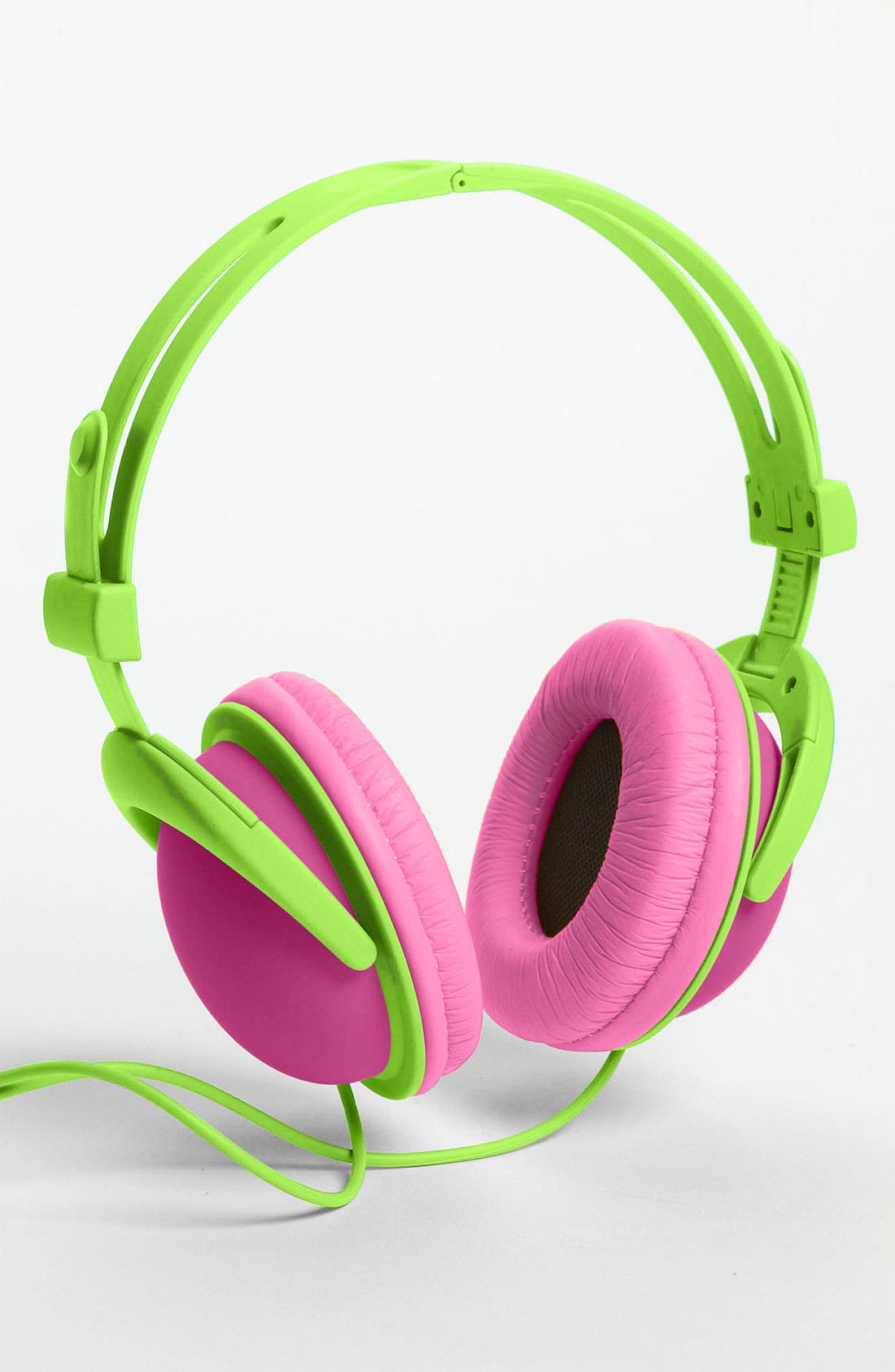 Alternate Image 4  - Decor Craft Colorblock Headphones
