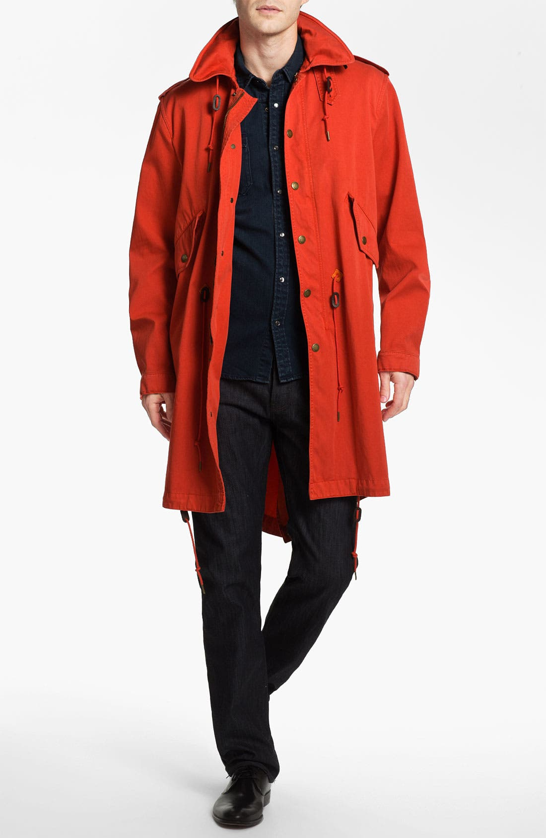 Alternate Image 1 Selected - Burberry Brit Technical Parka