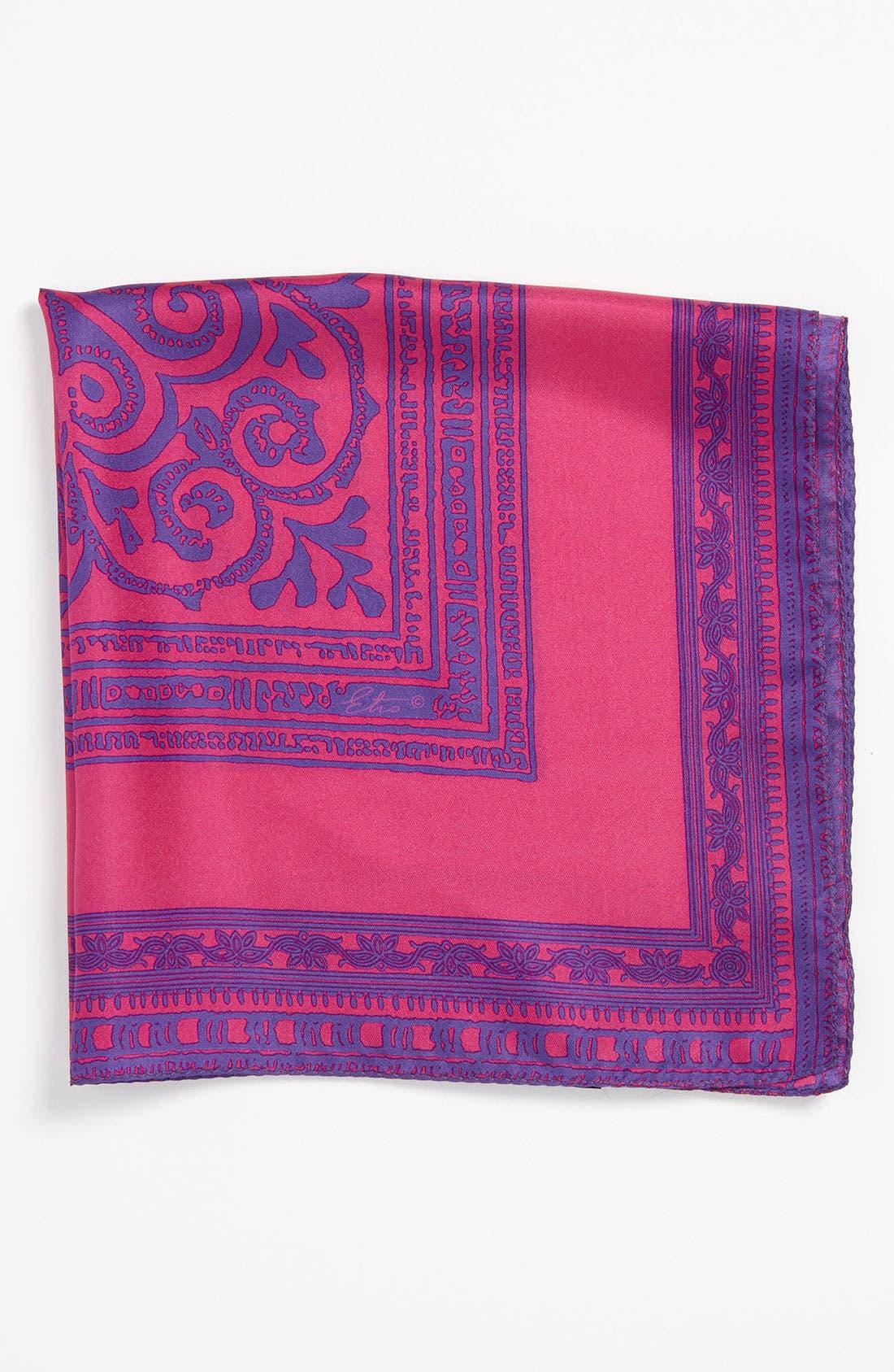 Alternate Image 1 Selected - Etro Silk Pocket Square