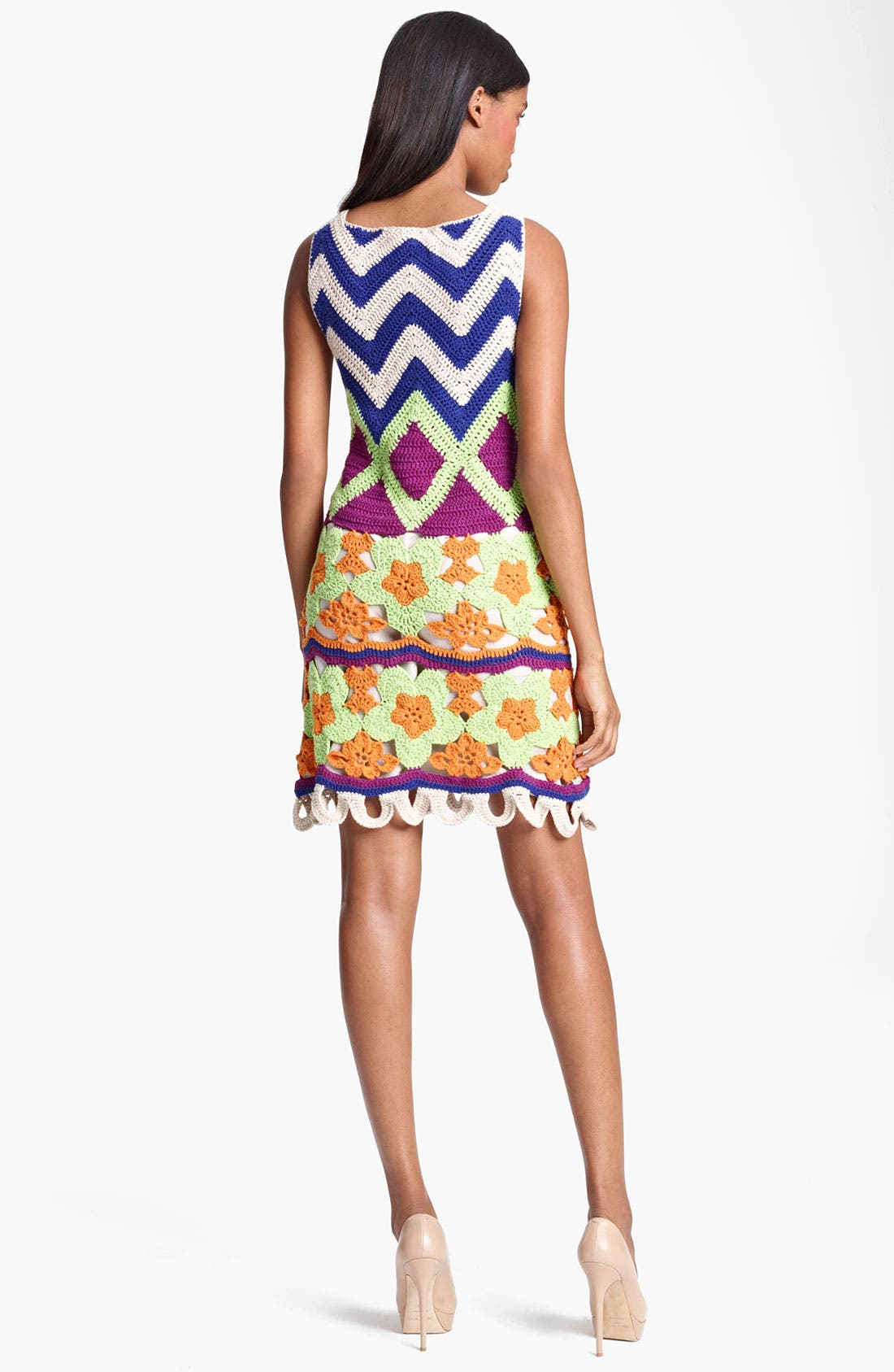 Alternate Image 2  - Moschino Cheap & Chic Crochet Dress