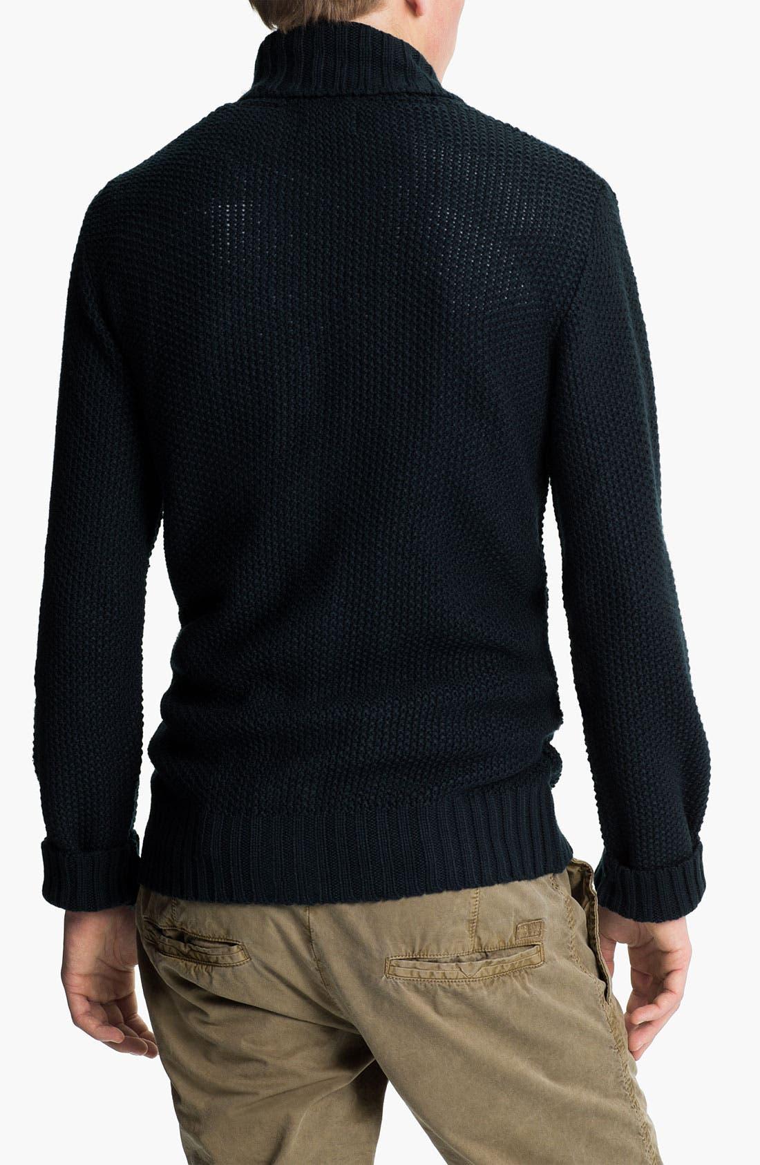 Alternate Image 2  - Obey 'Carver' Shawl Collar Cardigan
