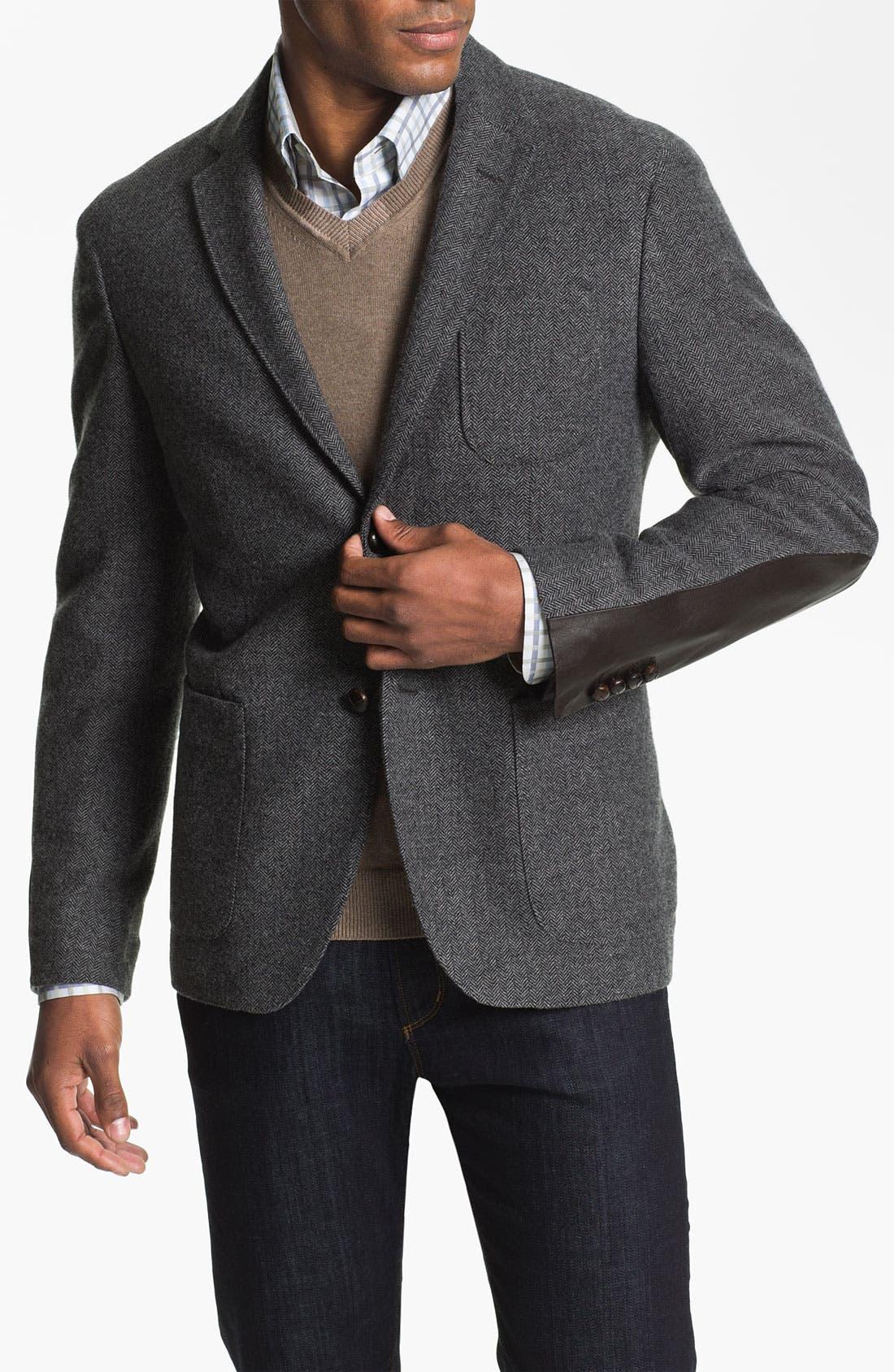 Alternate Image 1 Selected - Façonnable Wool Blend Sportcoat