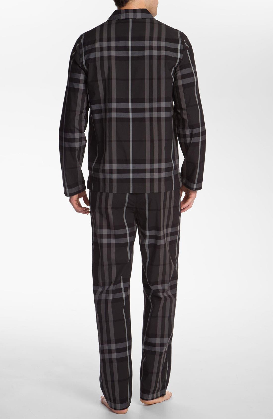 Alternate Image 2  - Burberry London Pajama Set