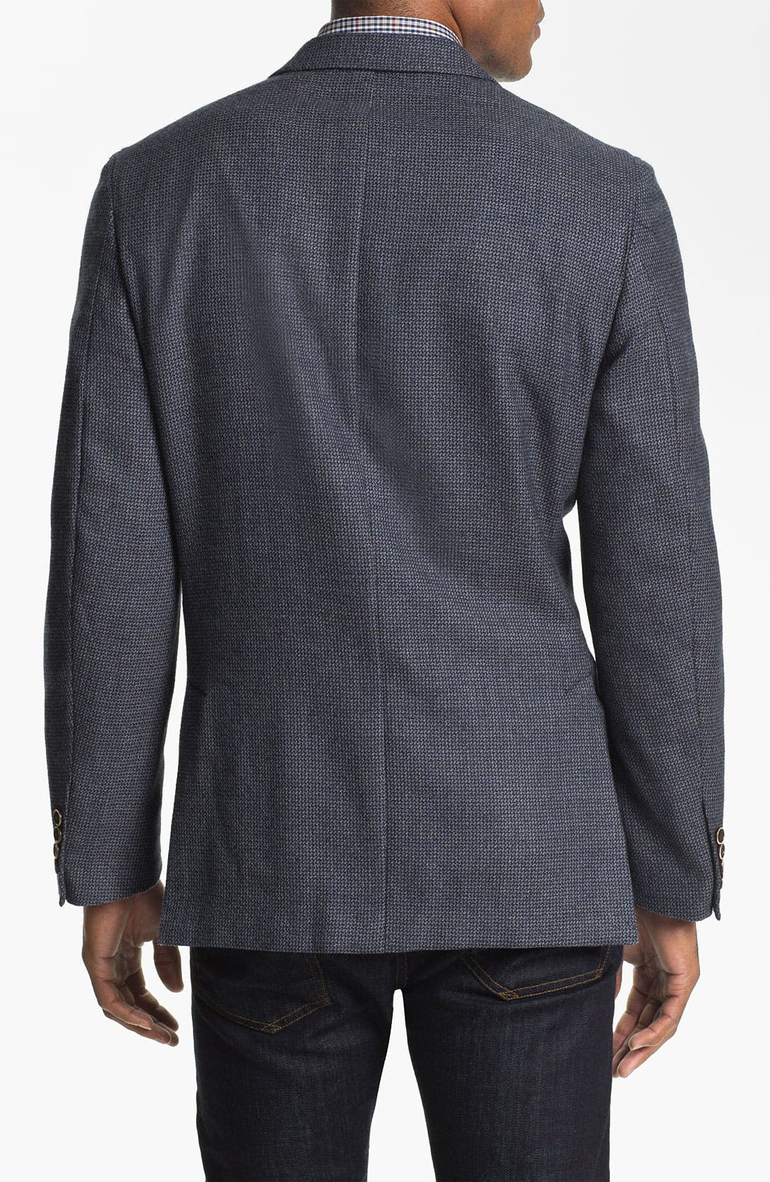 Alternate Image 2  - Peter Millar Wool Sportcoat