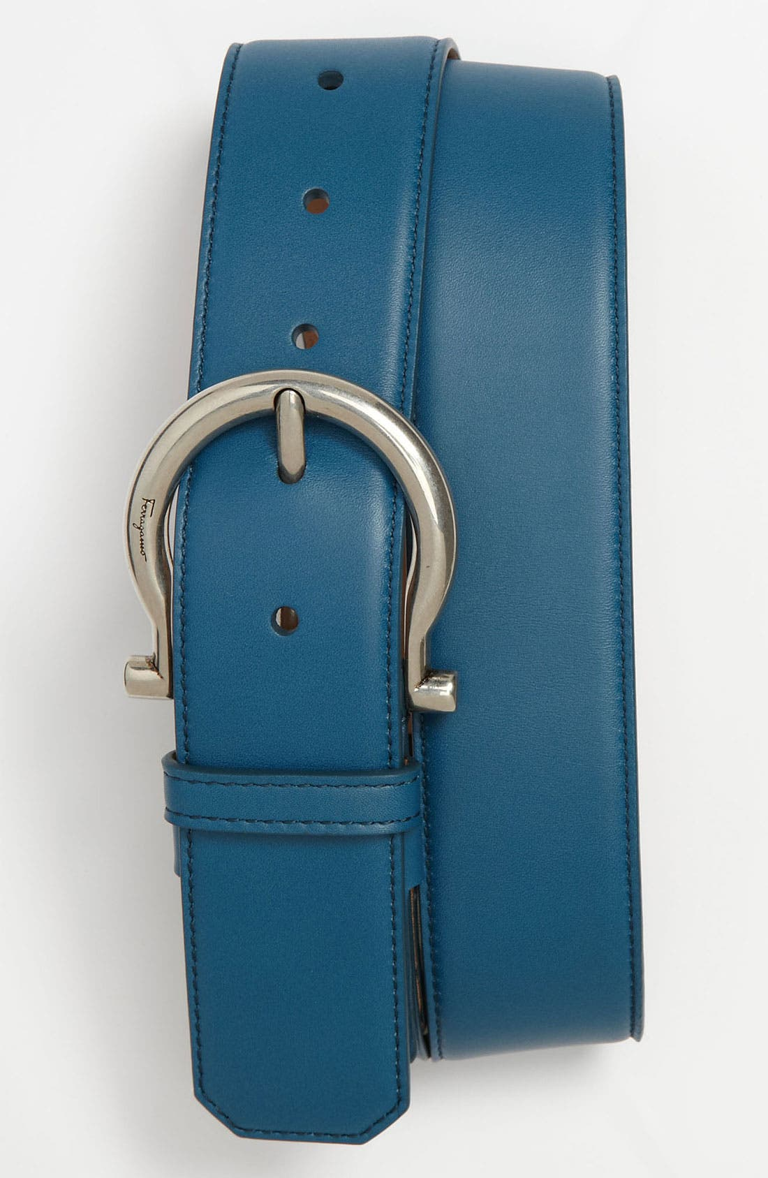 Main Image - Salvatore Ferragamo Leather Belt