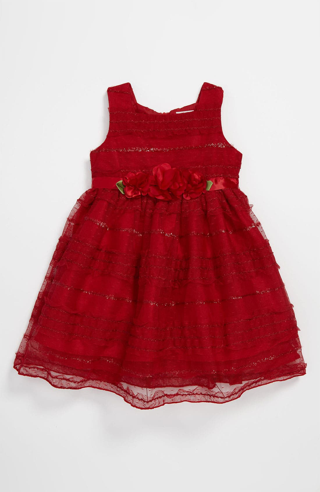Alternate Image 1 Selected - Sweet Heart Rose Lace Dress (Toddler)