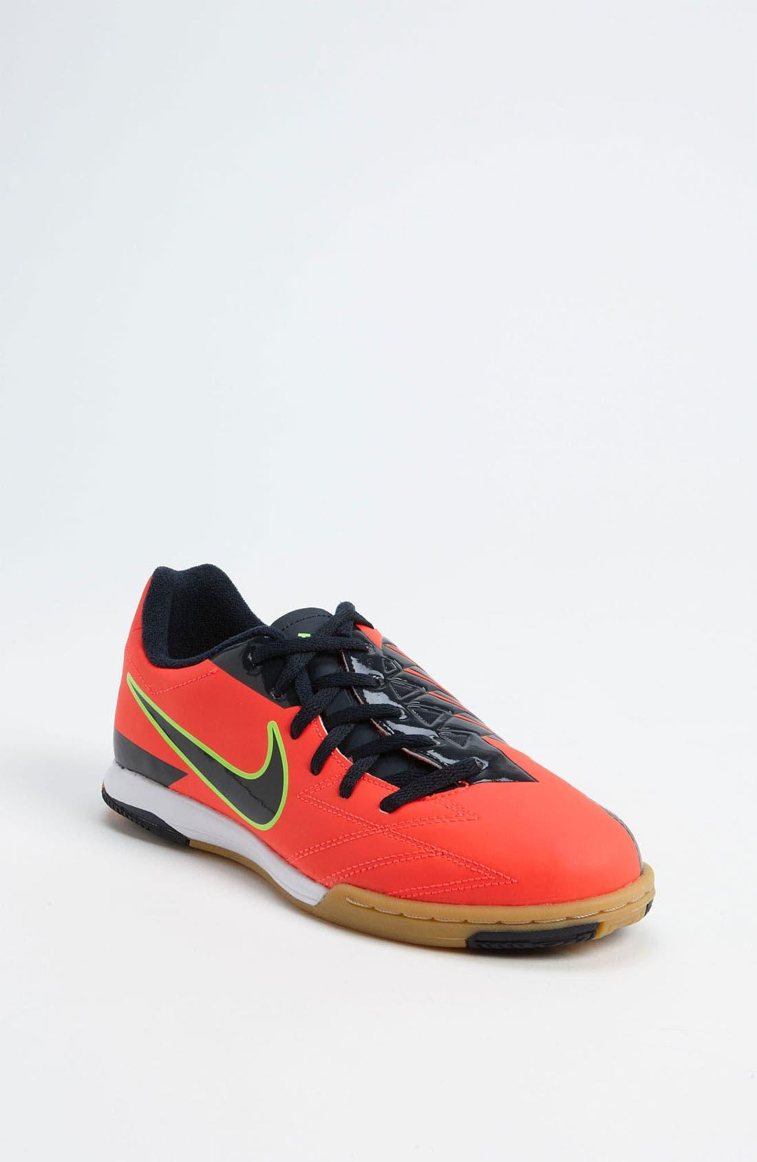 Alternate Image 1 Selected - Nike 'T90 Shoot IV' Soccer Shoe (Toddler, Little Kid & Big Kid)