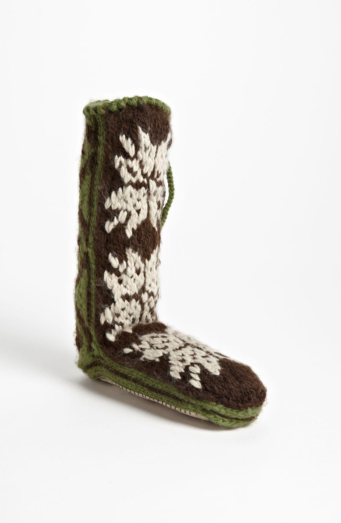 Alternate Image 1 Selected - Woolrich 'Chalet' Slipper Socks