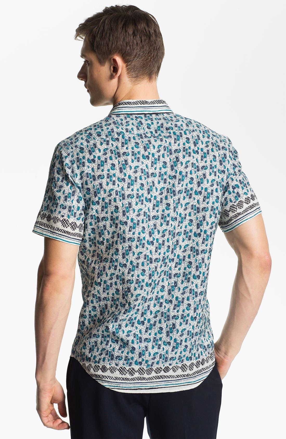 Alternate Image 2  - Burberry Prorsum Crinkled Print Shirt