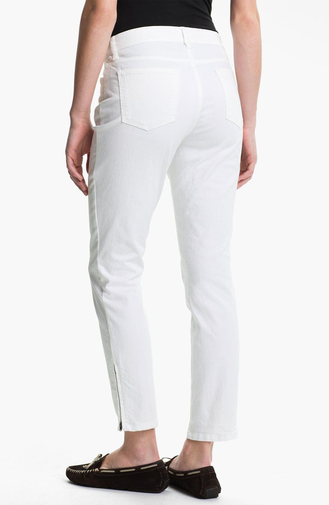 Alternate Image 2  - Eileen Fisher Slim Leg Crop Pants (Online Exclusive)