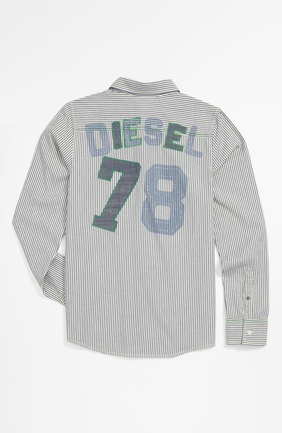 Alternate Image 2  - DIESEL® 'Caixi' Shirt (Big Boys)