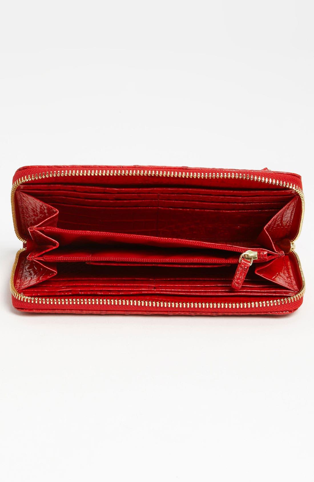 Alternate Image 3  - Brahmin 'Suri' Zip Around Wallet