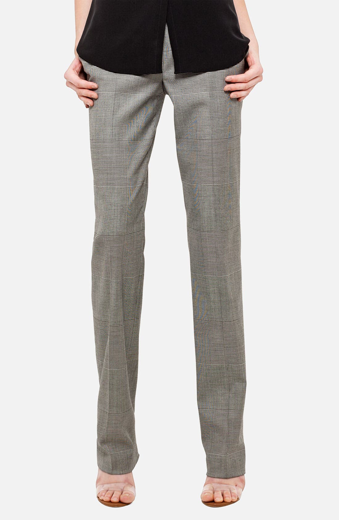 Alternate Image 1 Selected - Akris punto 'Faubourg' Prince of Wales Pants