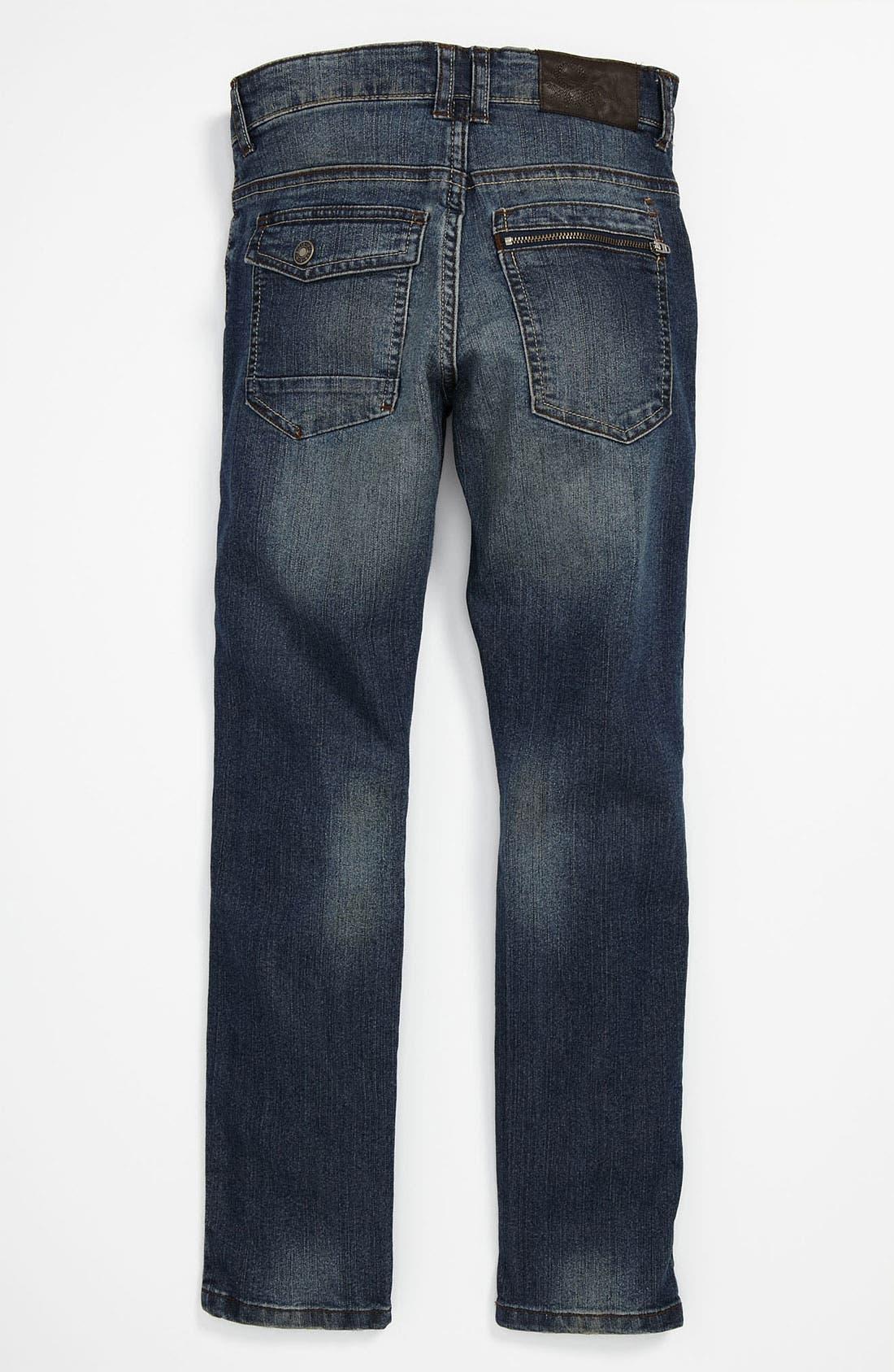 Alternate Image 1 Selected - United Colors of Benetton Kids Skinny Leg Jeans (Little Boys & Big Boys)