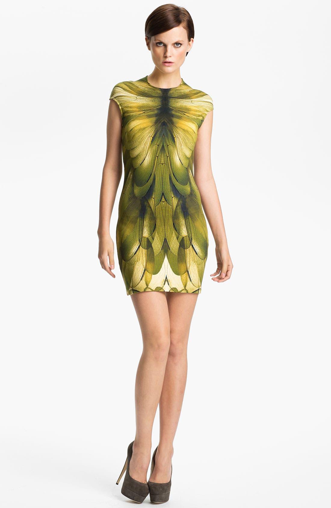 Main Image - McQ by Alexander McQueen Cap Sleeve Dress