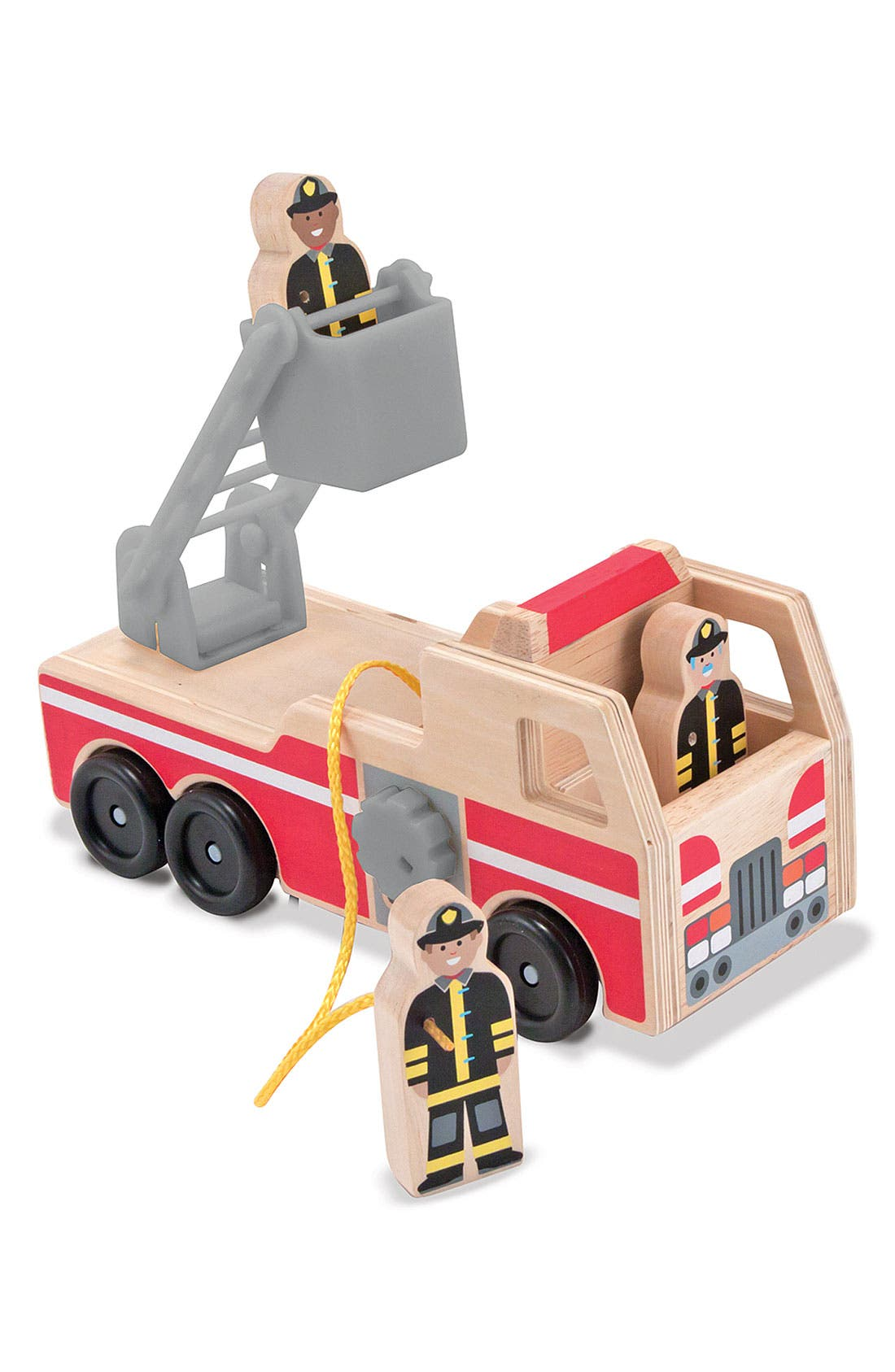 Alternate Image 2  - Melissa & Doug 'Whittle World - Fire Rescue' Wooden Toy