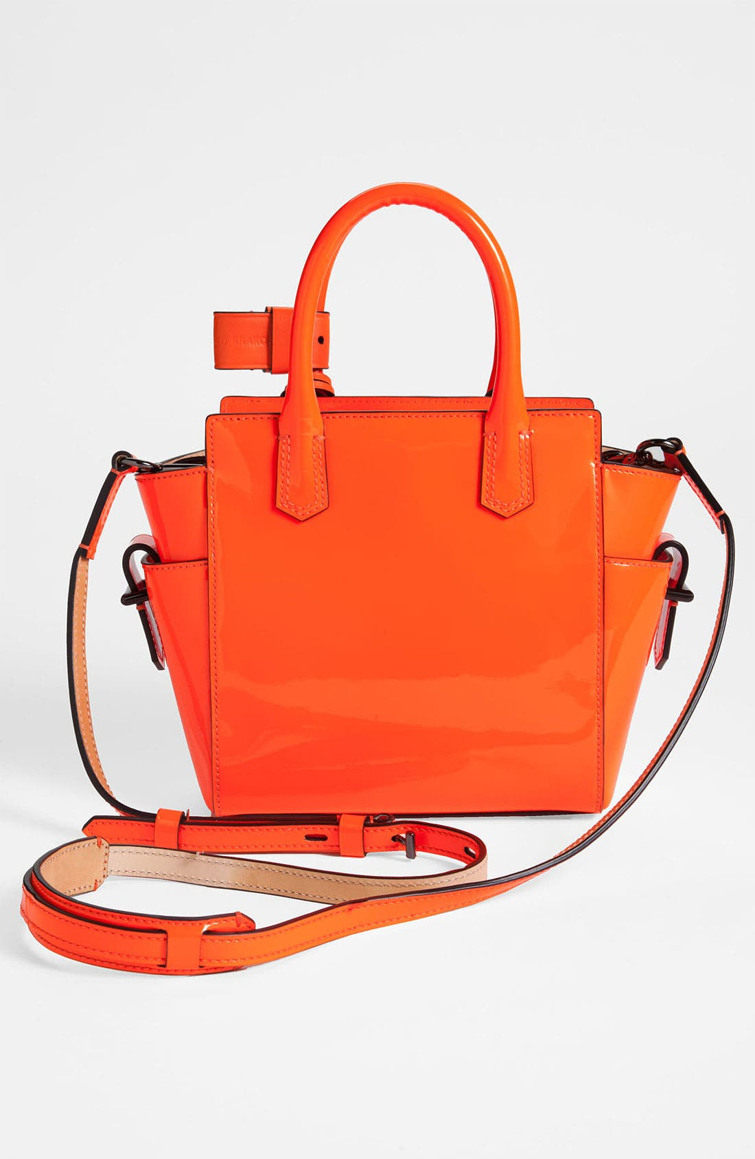 Alternate Image 4  - Reed Krakoff 'Atlantique - Micro' Patent Leather Satchel