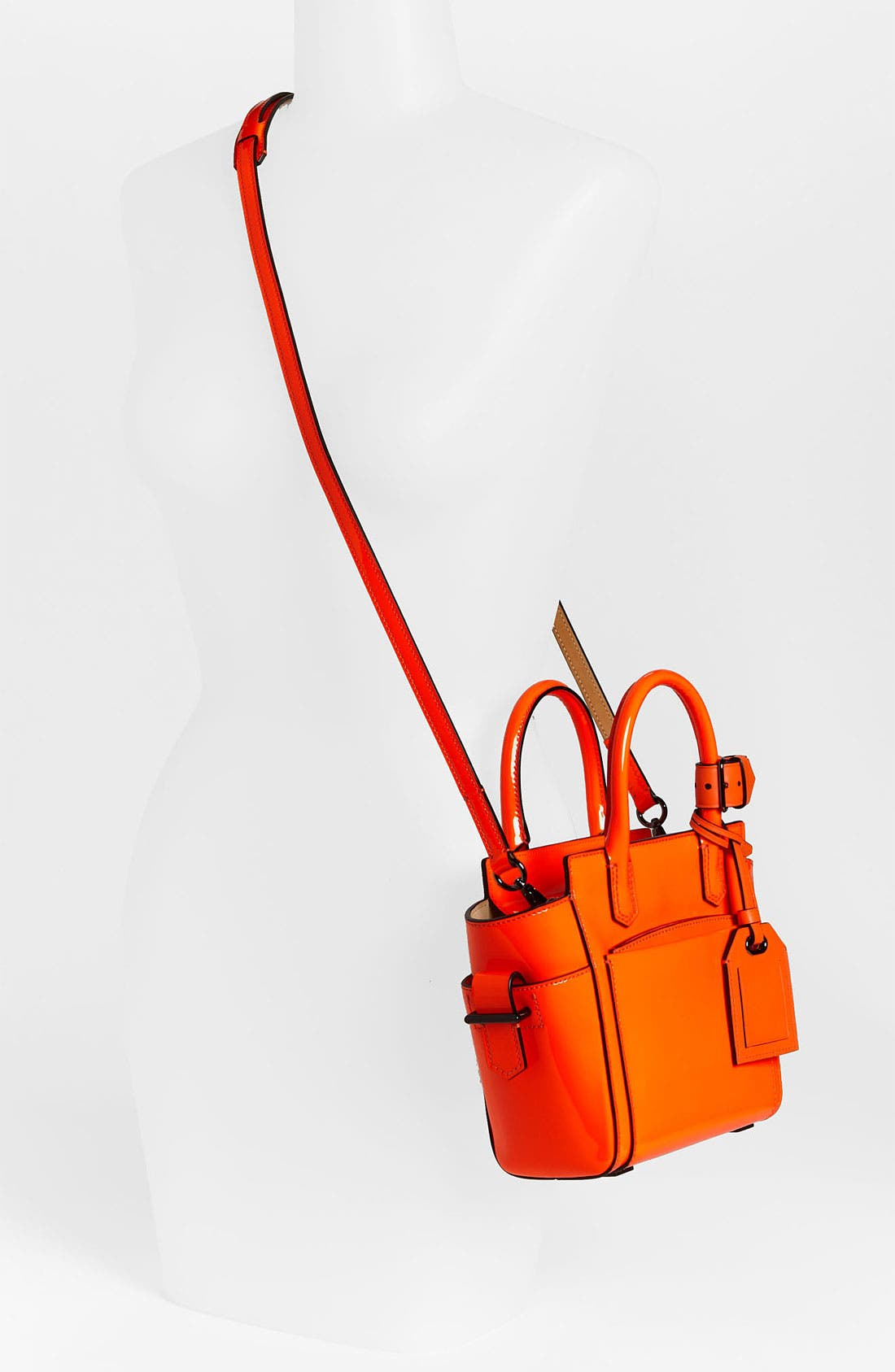 Alternate Image 2  - Reed Krakoff 'Atlantique - Micro' Patent Leather Satchel
