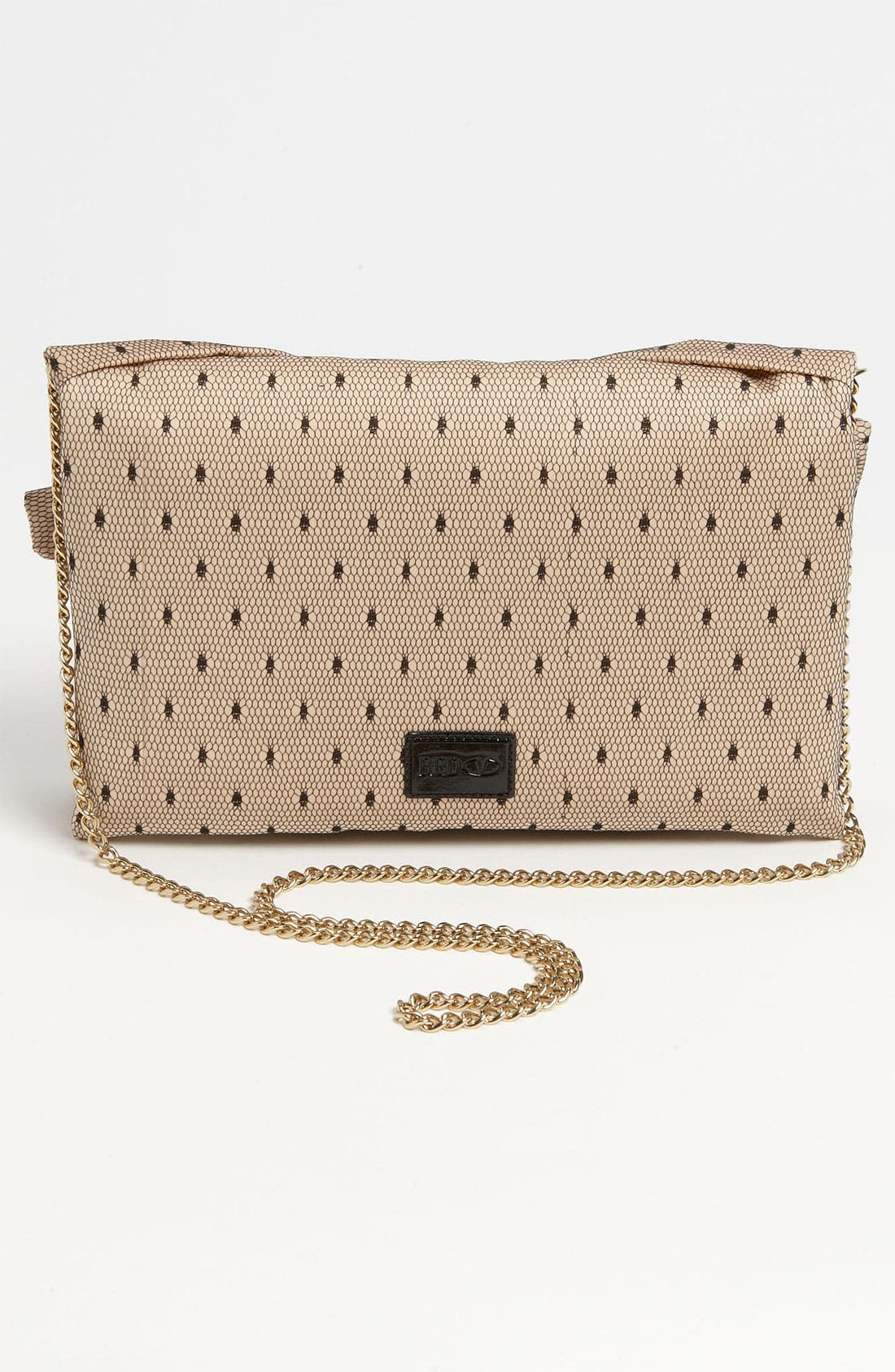 Alternate Image 4  - RED Valentino 'Bow' Point d'Esprit Clutch