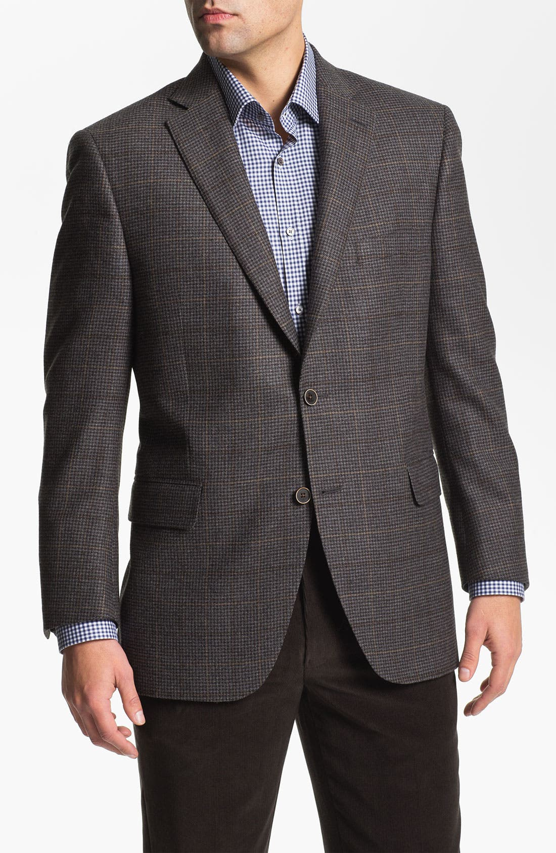 Alternate Image 1 Selected - Peter Millar Houndtooth Sportcoat