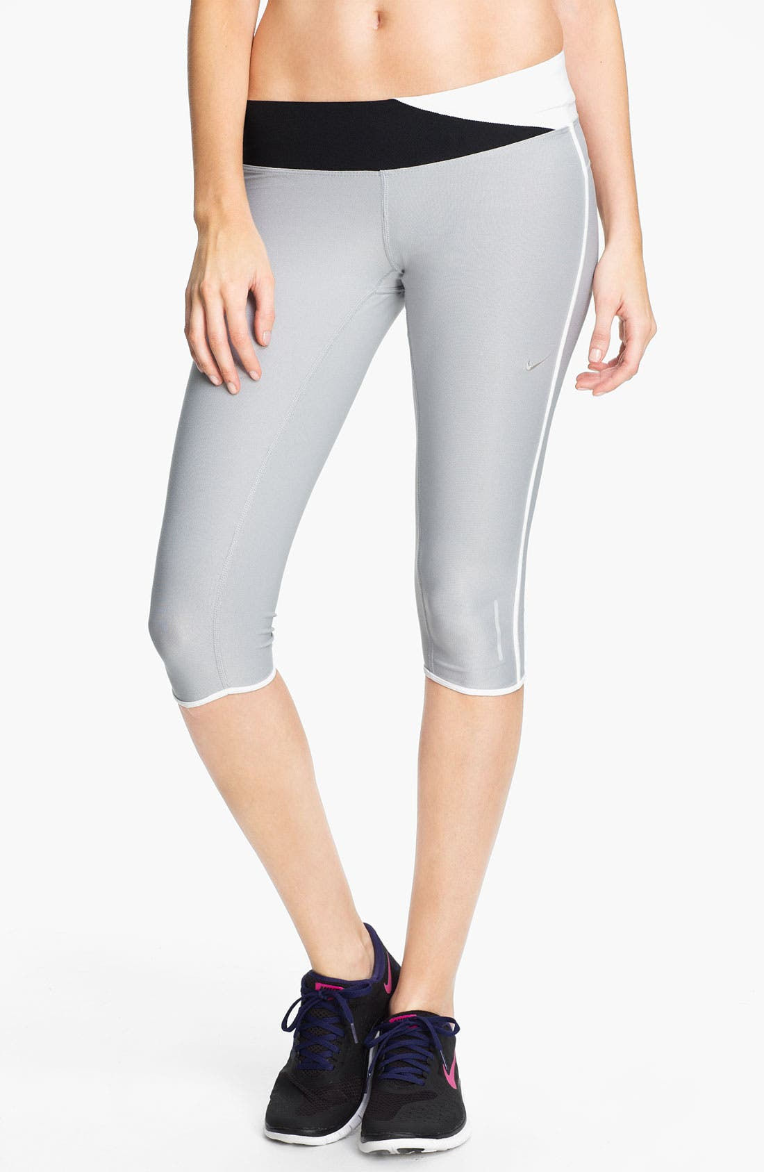 Alternate Image 1 Selected - Nike 'Twisted' Running Capris