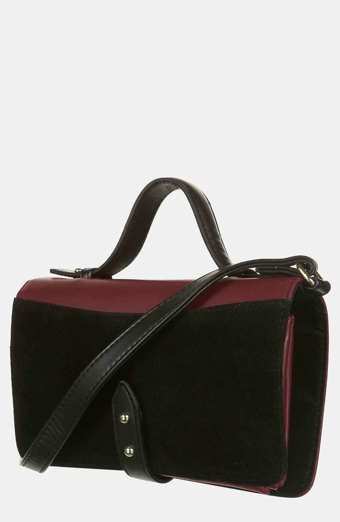 Main Image - Topshop Stud Detail Crossbody Bag