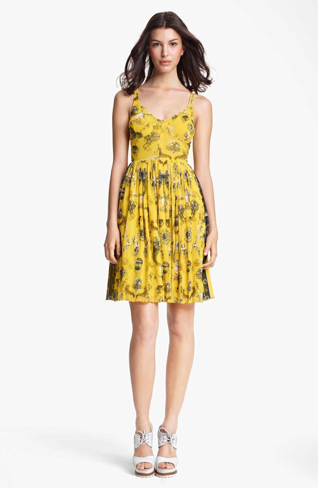 Alternate Image 1 Selected - Jean Paul Gaultier Fuzzi 'Fruit de la Mer' Print Tulle Dress