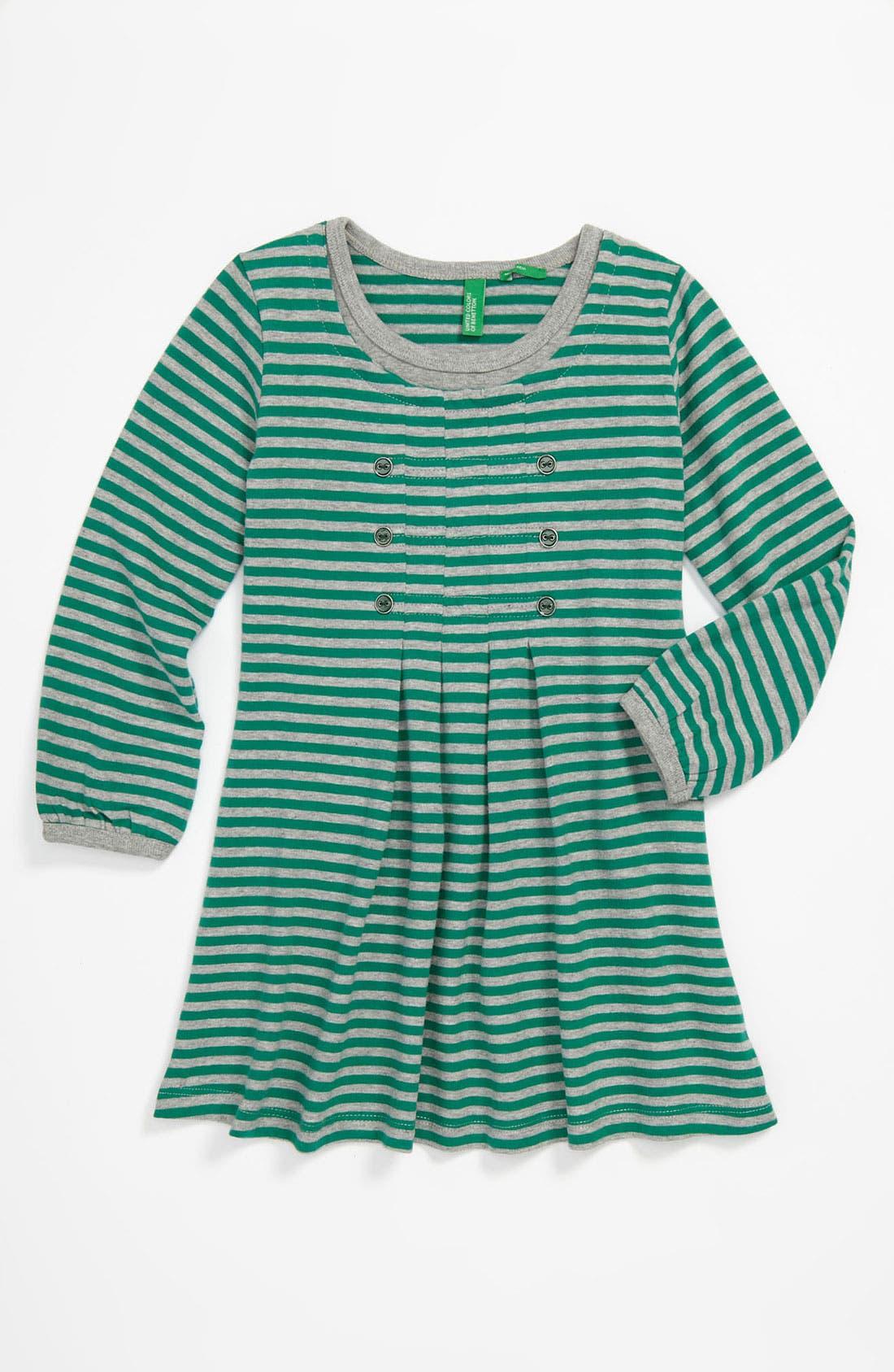 Main Image - United Colors of Benetton Kids Stripe Dress (Toddler)