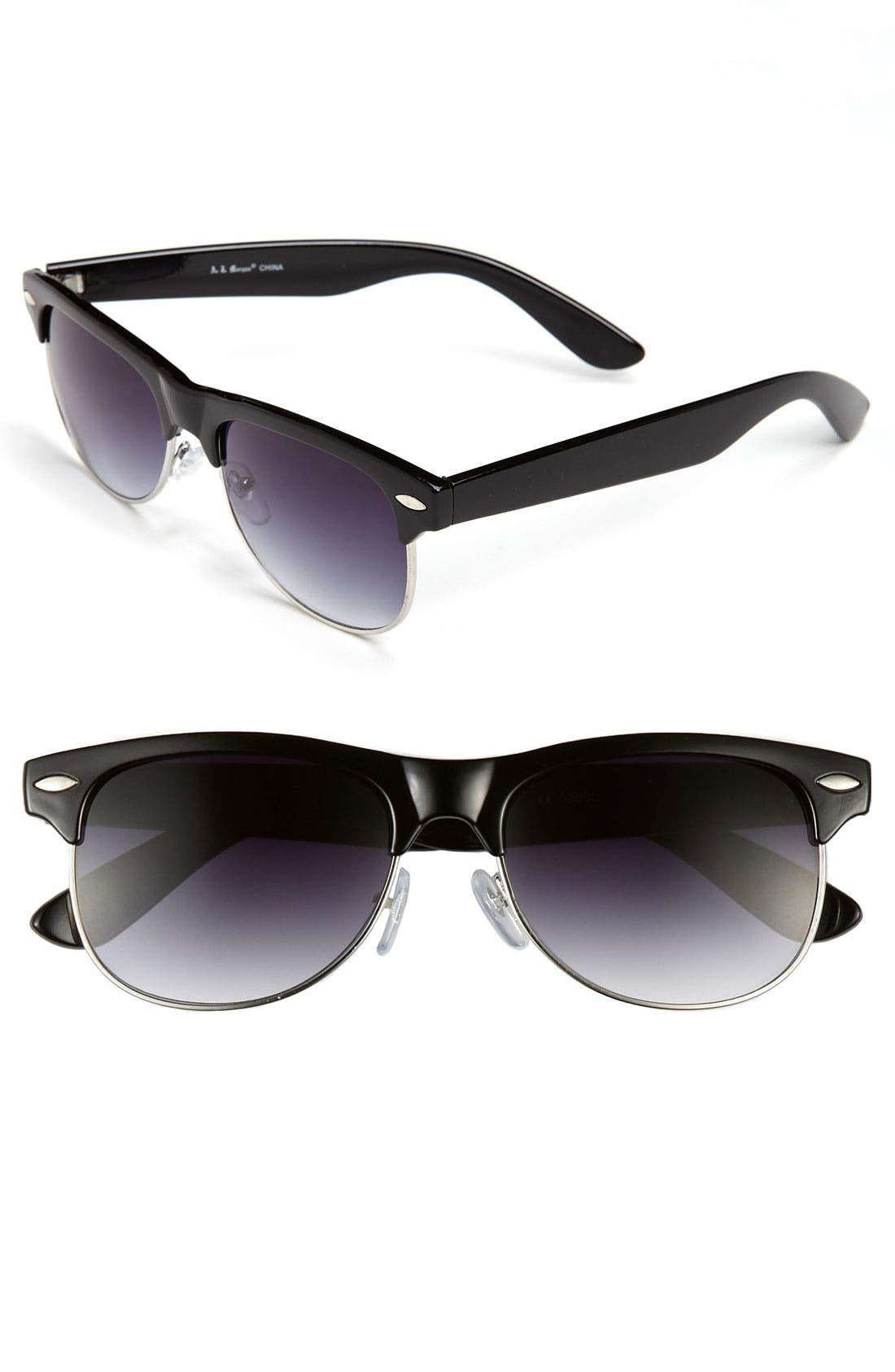 Alternate Image 1 Selected - A.J. Morgan 57mm Retro Sunglasses