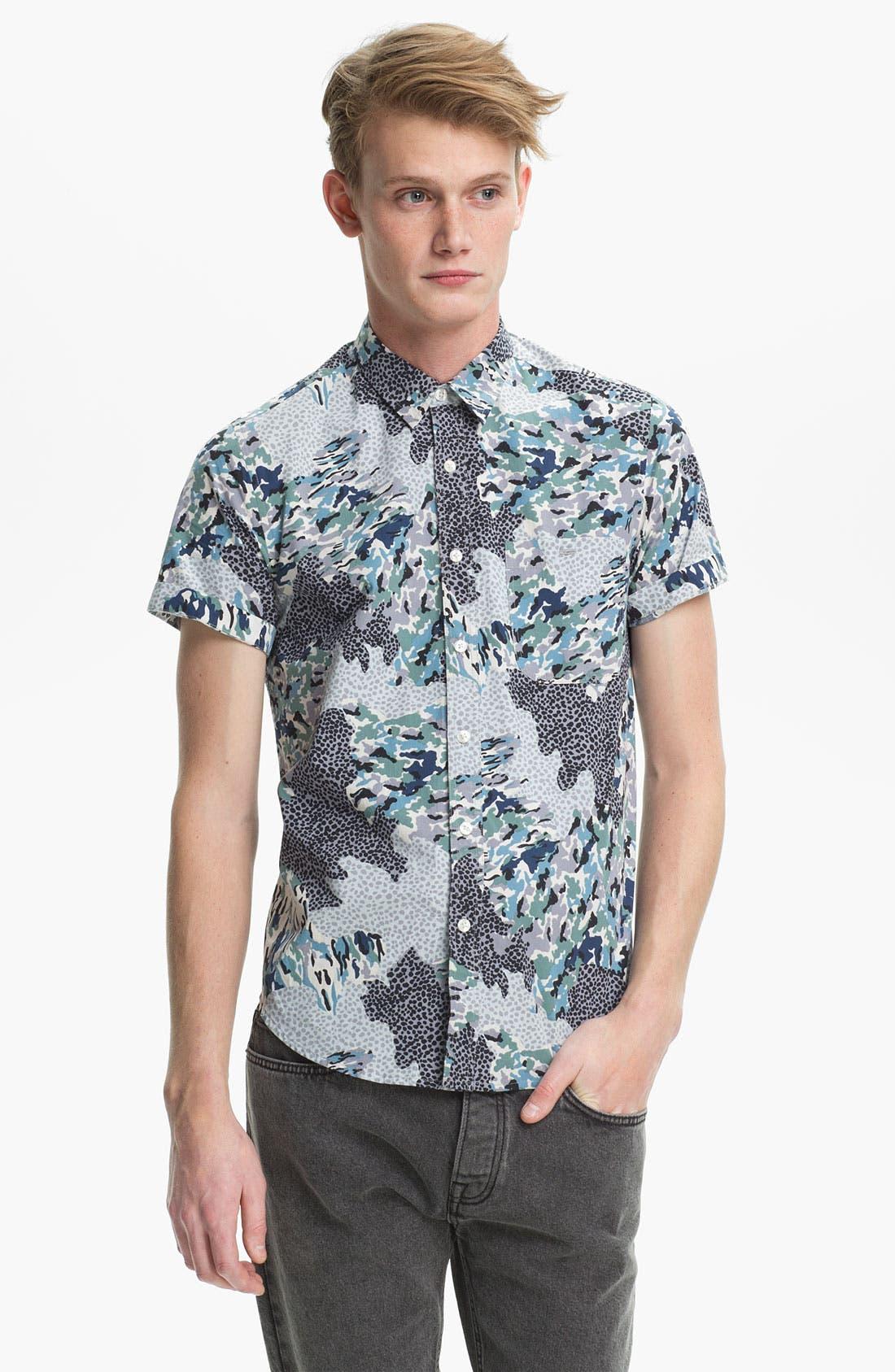 Main Image - Topman Pattern Print Shirt
