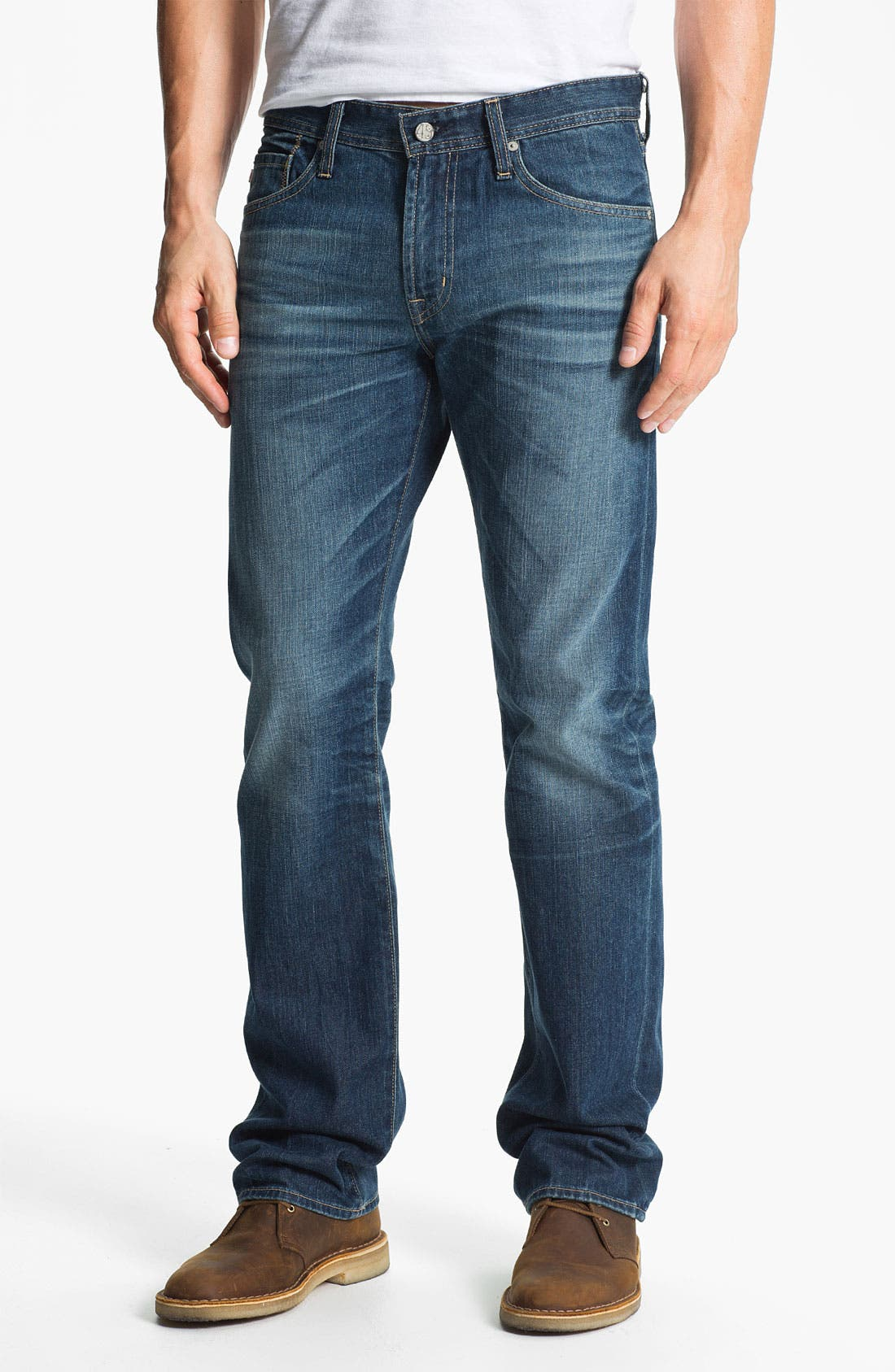 Alternate Image 1 Selected - AG Jeans 'Protégé' Straight Leg Jeans (Thirteen Year Smooth)
