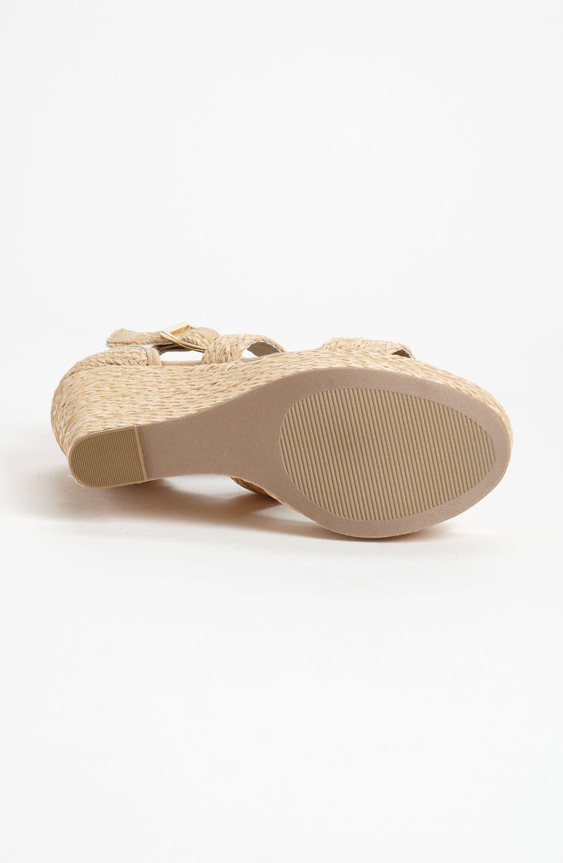 Alternate Image 4  - Steve Madden 'Haywire' Wedge Sandal