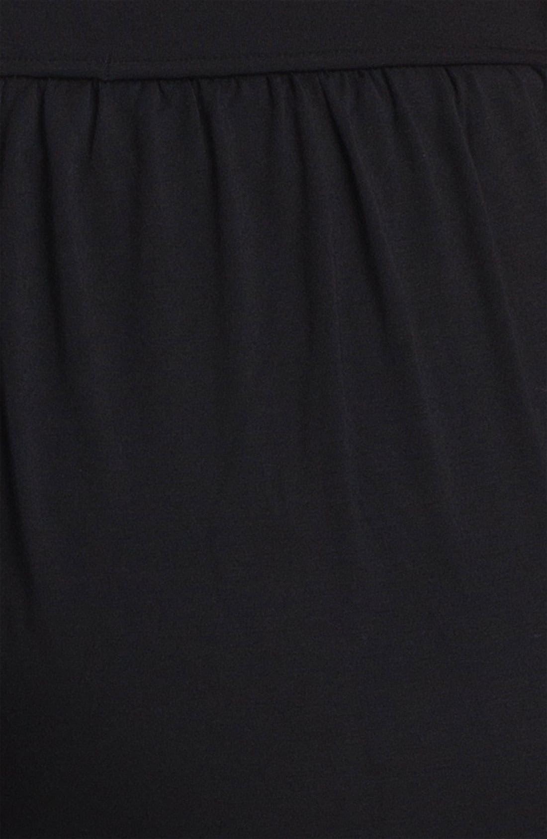 Alternate Image 3  - Sejour Jersey Knit Crop Pants (Plus Size)