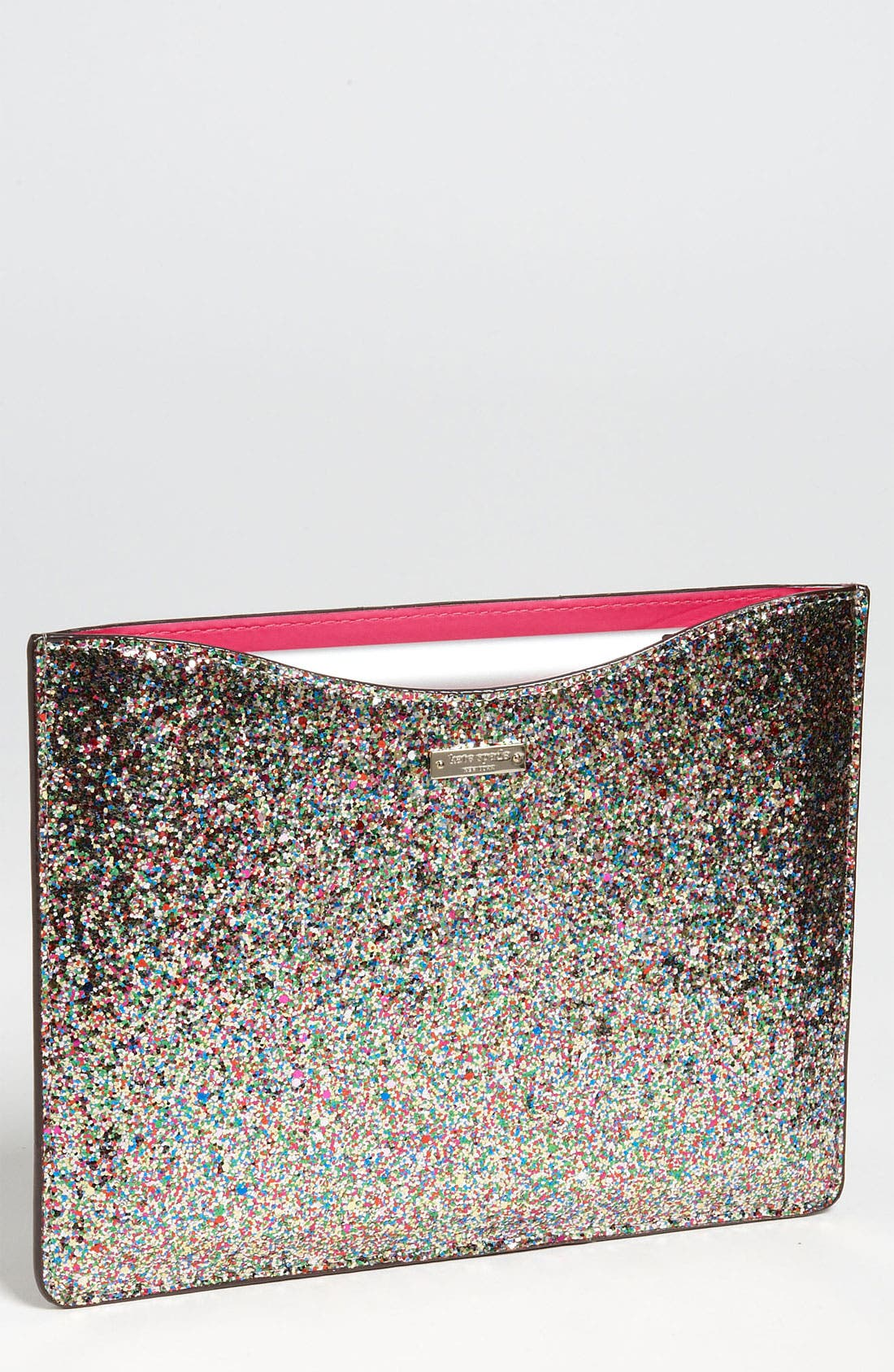 Alternate Image 1 Selected - kate spade new york 'glitter' iPad 2 & 3 sleeve