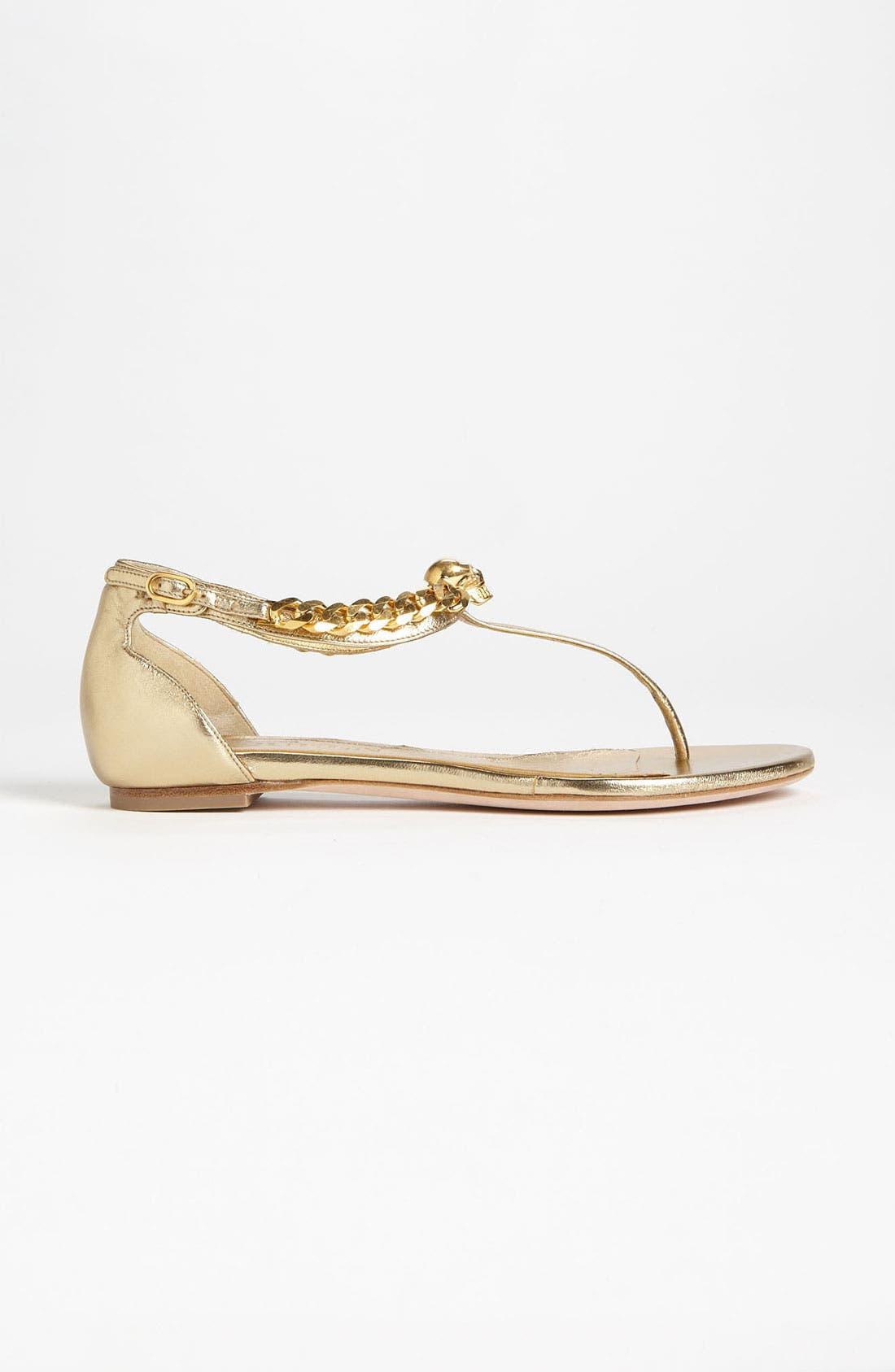 Alternate Image 3  - Alexander McQueen Flat Sandal