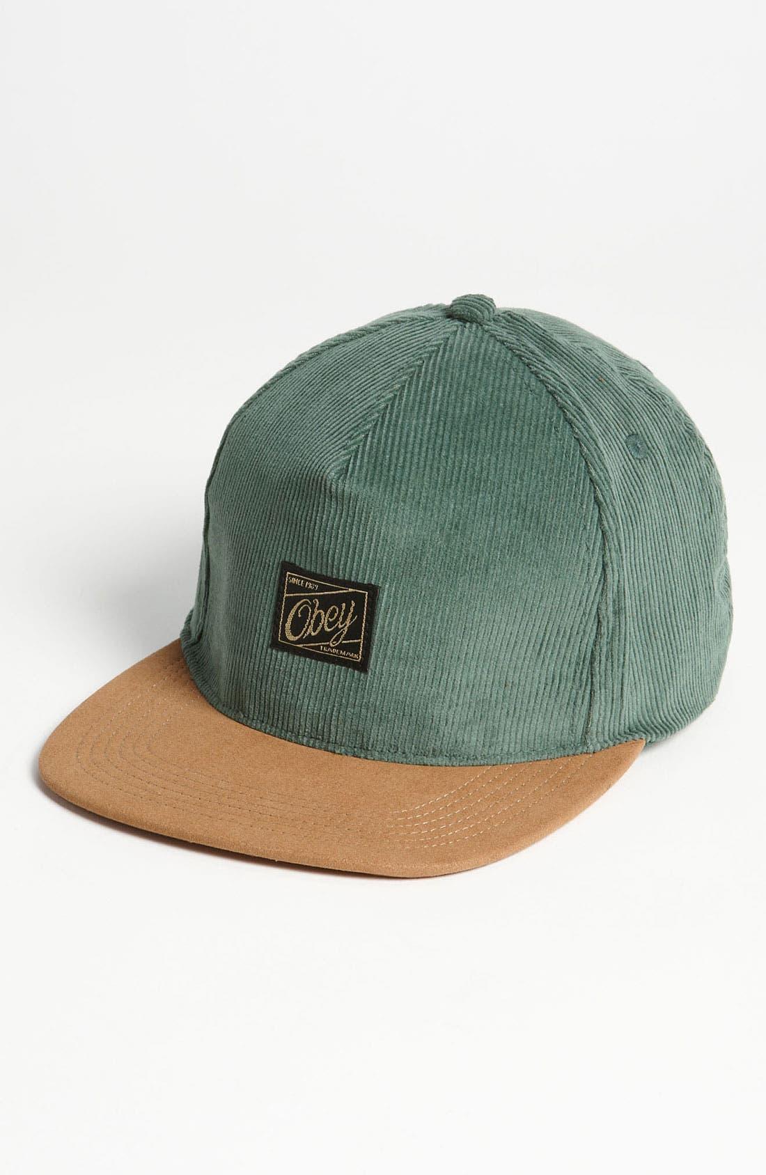 Main Image - Obey 'Ralph Luxe' Baseball Cap