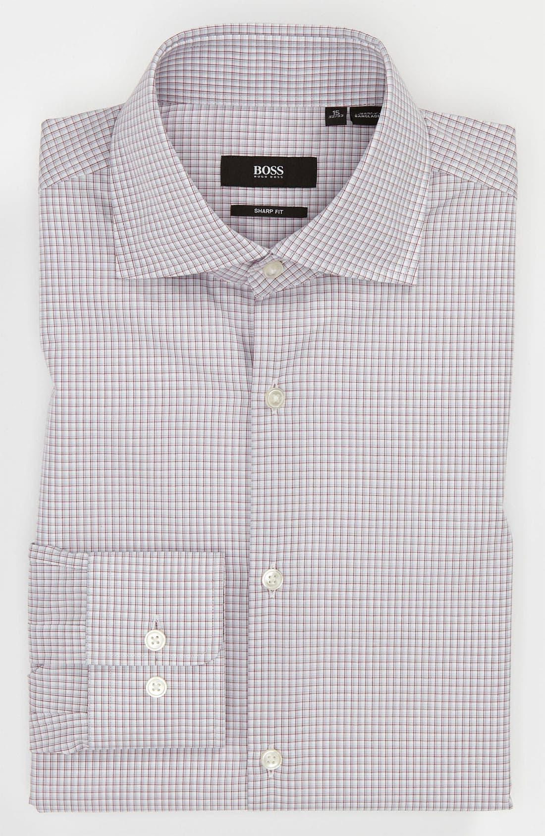 Main Image - BOSS Black Sharp Fit Dress Shirt (Online Only)