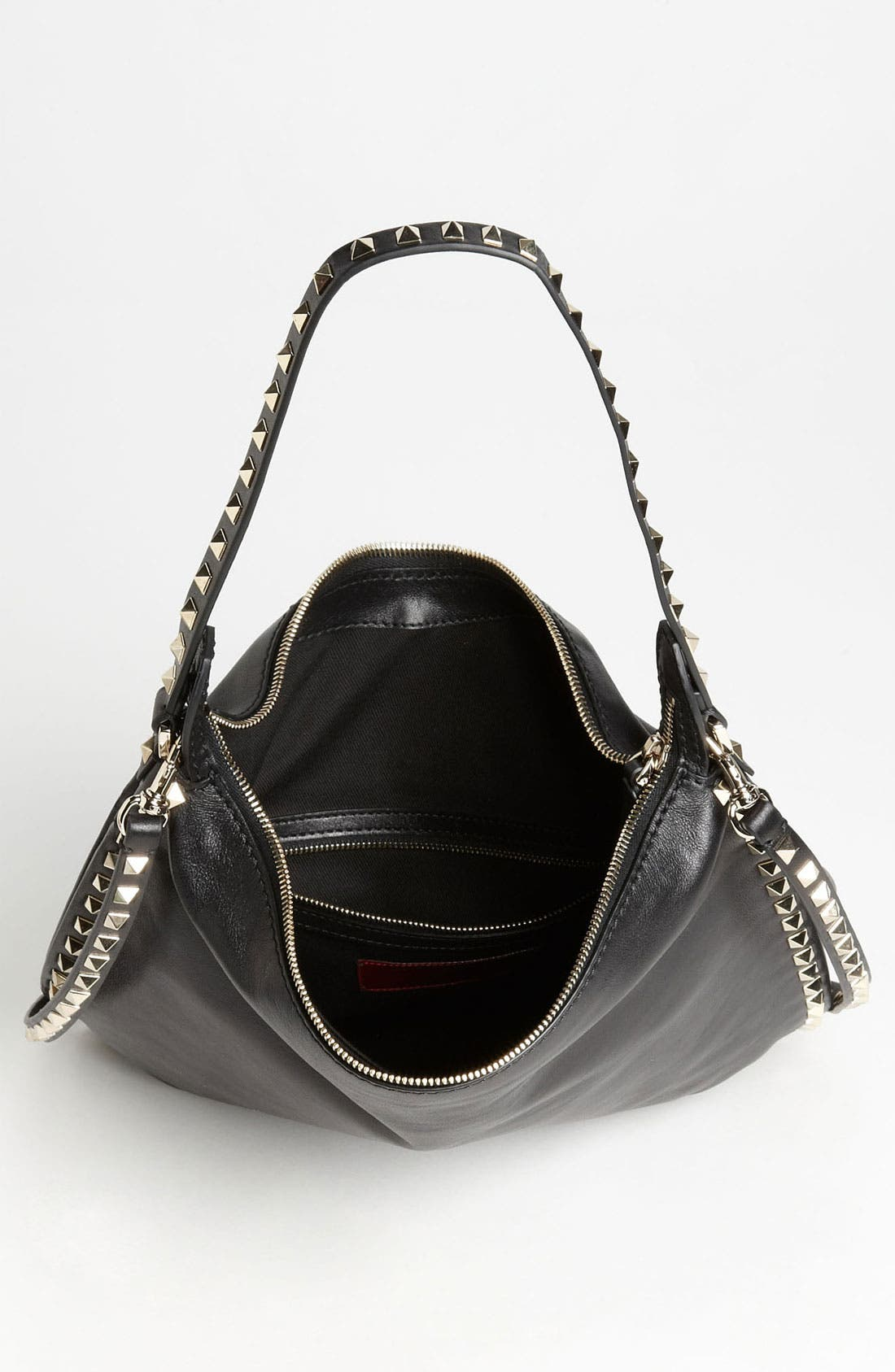 Alternate Image 3  - Valentino 'Small Rockstud' Leather Hobo