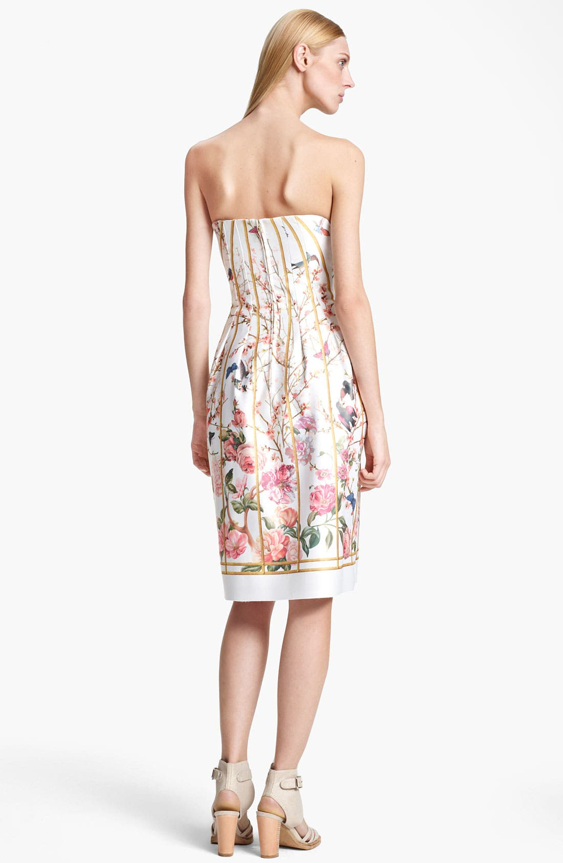 Alternate Image 2  - Thakoon Birdcage Print Dress