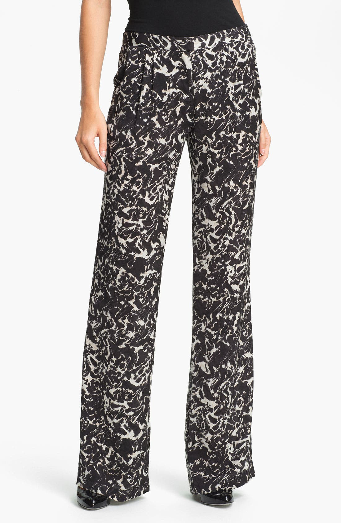 Alternate Image 1 Selected - DKNYC 'Ambiance' Satin Pants