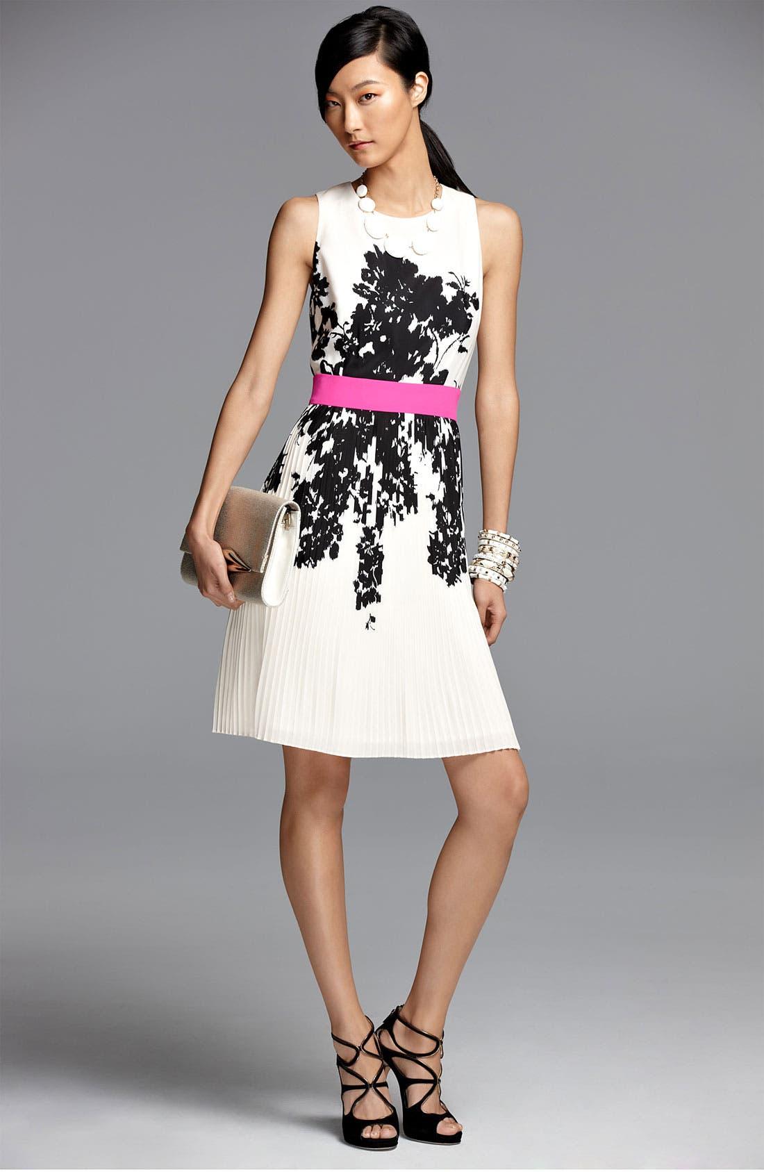 Alternate Image 4  - Eliza J Print Fit & Flare Dress