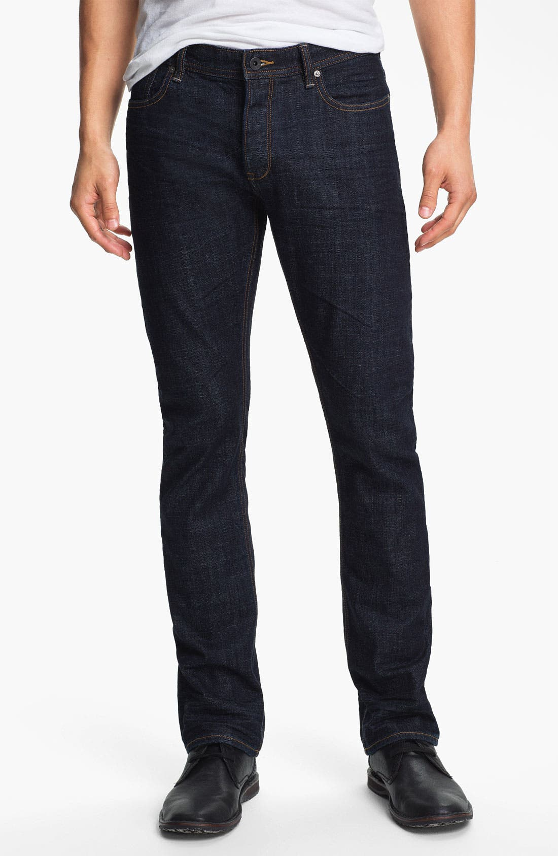 Alternate Image 1 Selected - John Varvatos Star USA Straight Leg Jeans (Indigo)