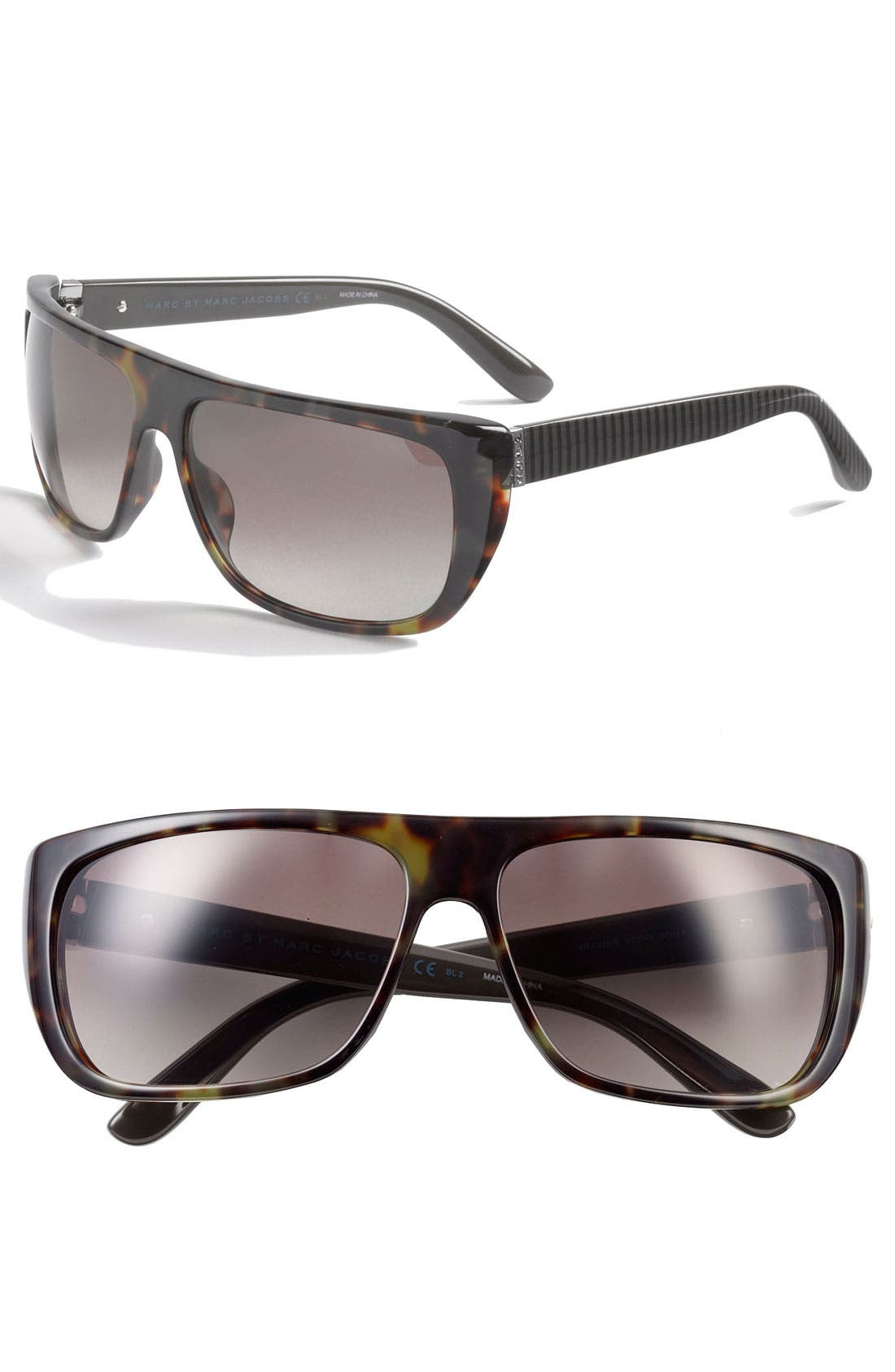 Alternate Image 1 Selected - MARC BY MARC JACOBS 60mm Polarized Sunglasses
