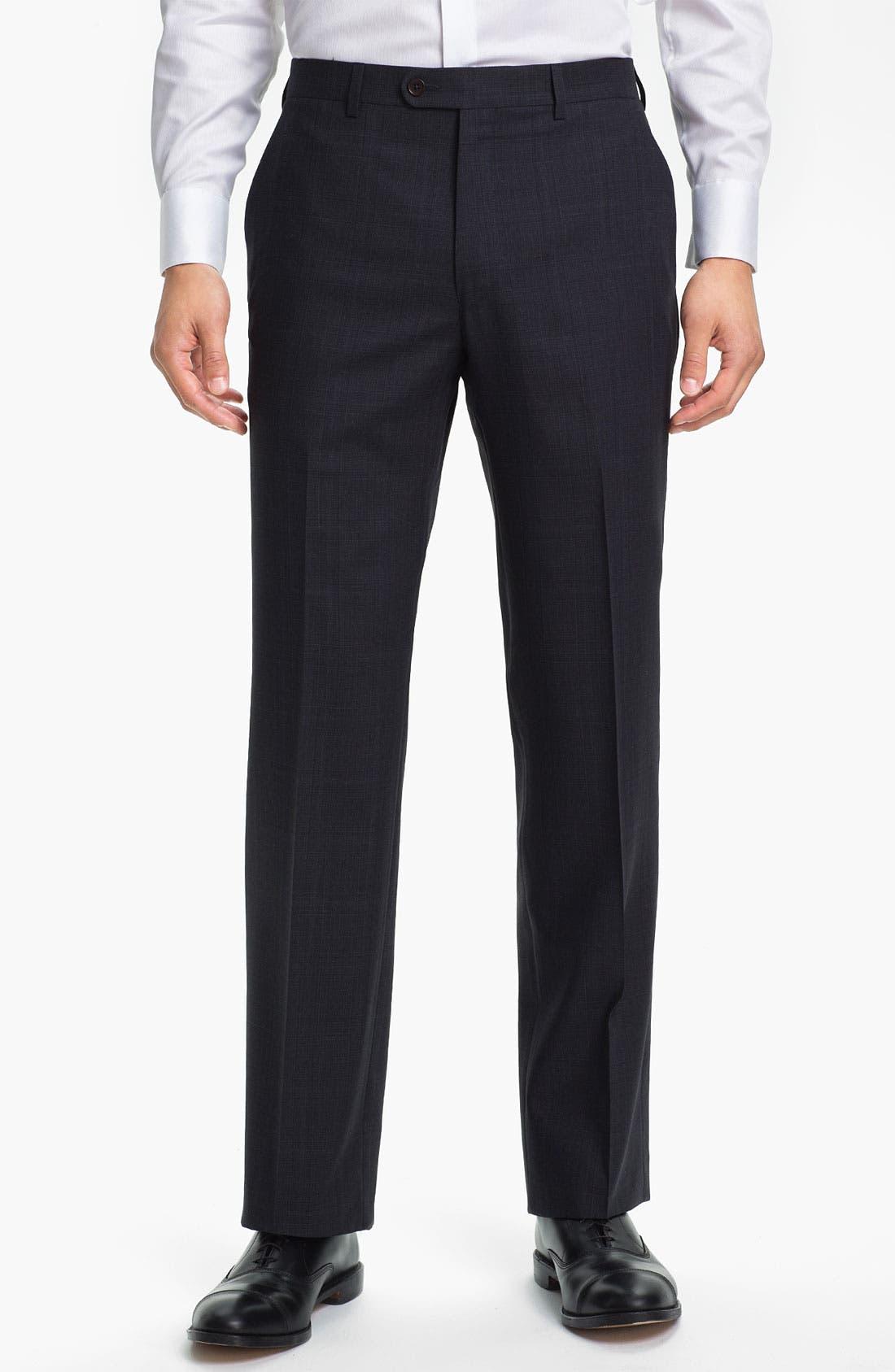 Alternate Image 4  - John Varvatos Star USA 'Irving' Trim Fit Three Piece Suit