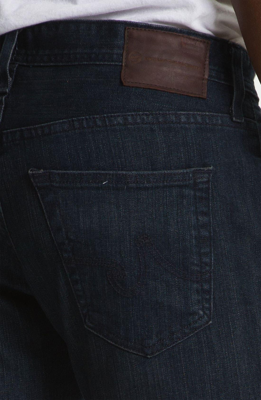 Alternate Image 4  - AG Jeans 'Protégé' Straight Leg Jeans (Dock Wash)
