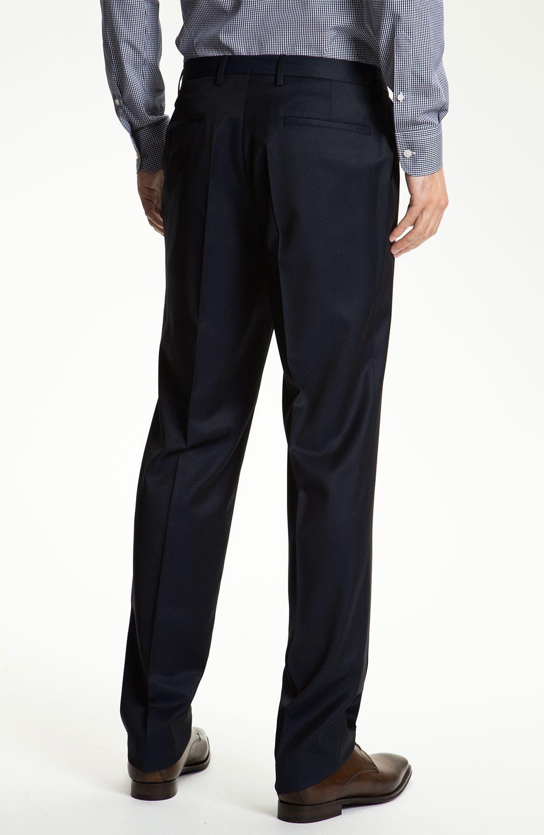 Alternate Image 5  - Sand Trim Fit Wool Suit