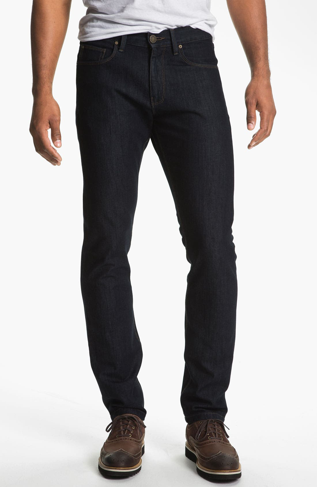 Alternate Image 1 Selected - DL1961 'Russell' Slim Straight Leg Jeans (Viper)