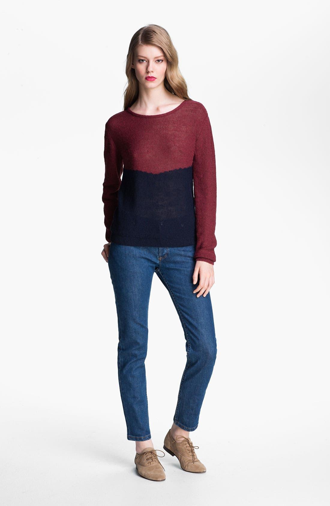 Alternate Image 4  - A.P.C. Slim Leg Crop Jeans