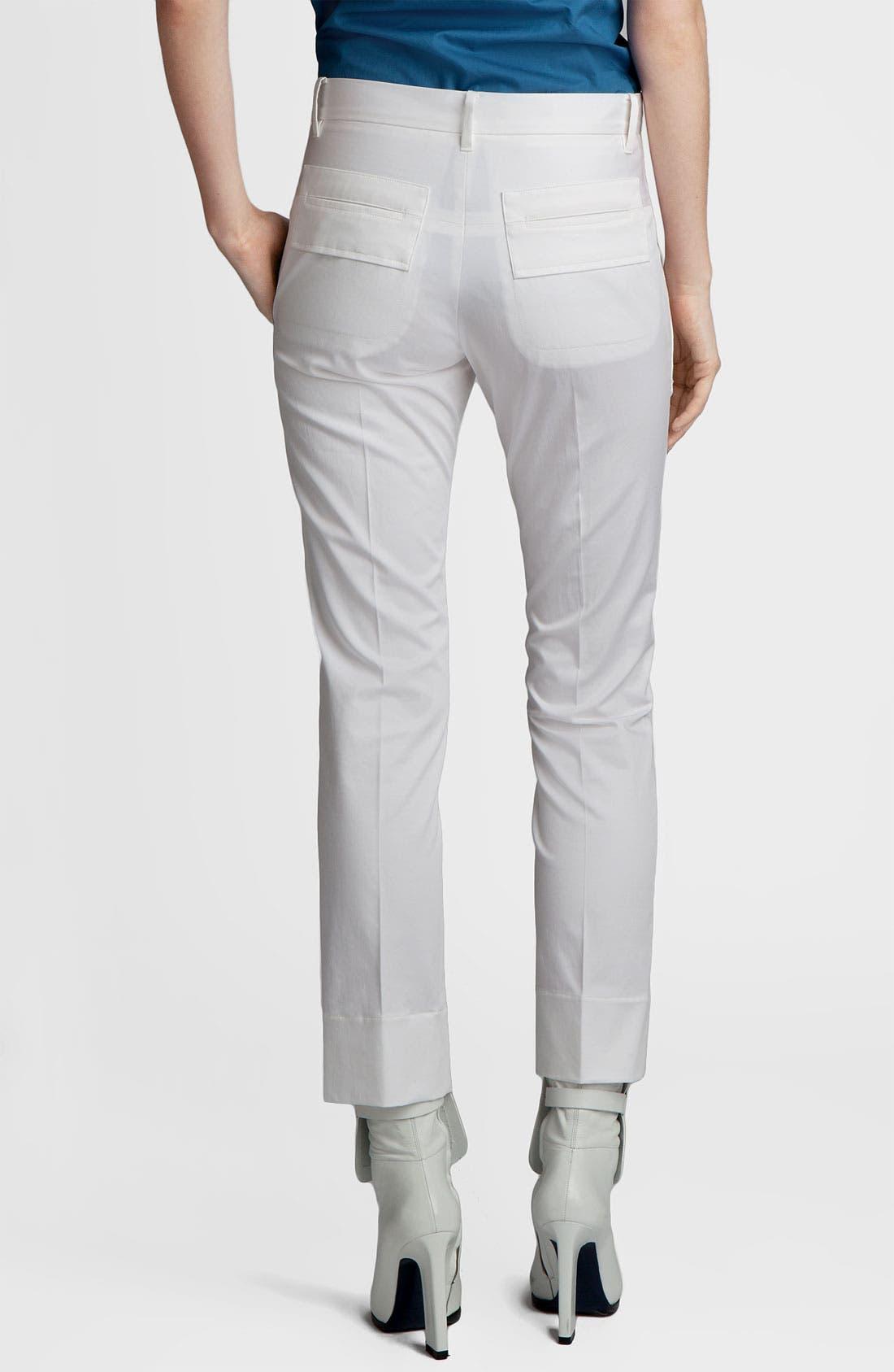 Alternate Image 2  - Jil Sander 'Niccolo' Slim Stretch Cotton Pants