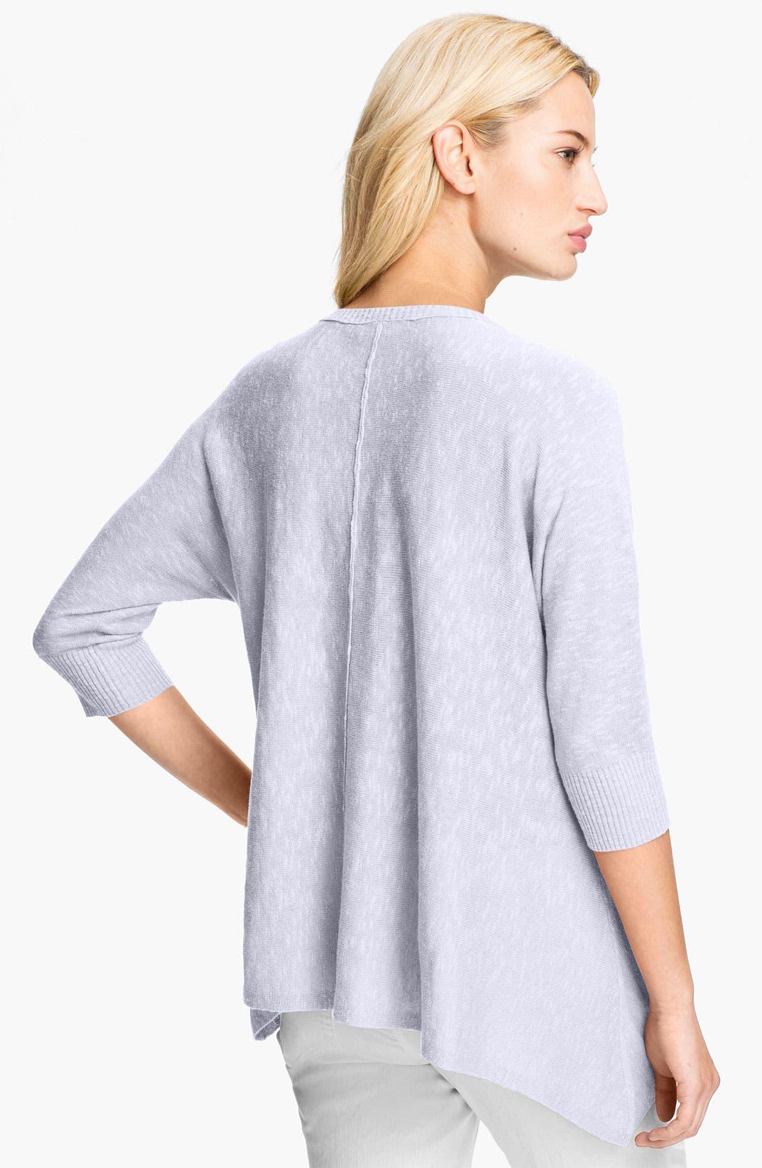 Alternate Image 2  - Eileen Fisher Linen & Cotton V-Neck Top